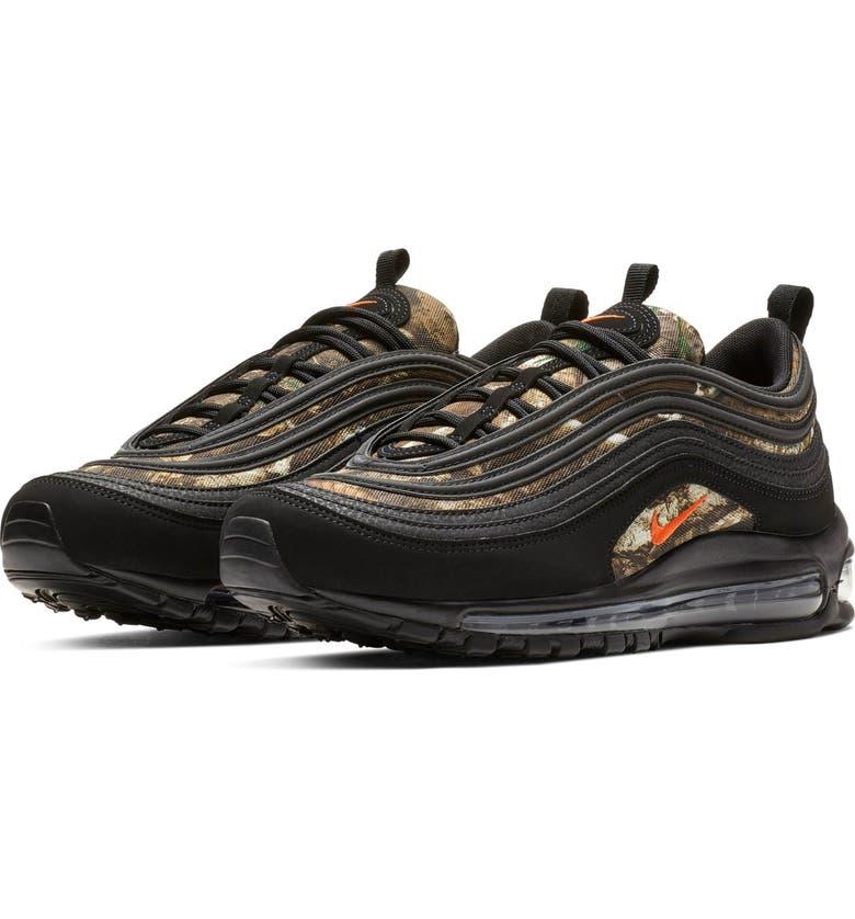 official photos 03a51 f88f7 NIKE Air Max 97 RLT Sneaker, Main, color, BLACK  TEAM ORANGE