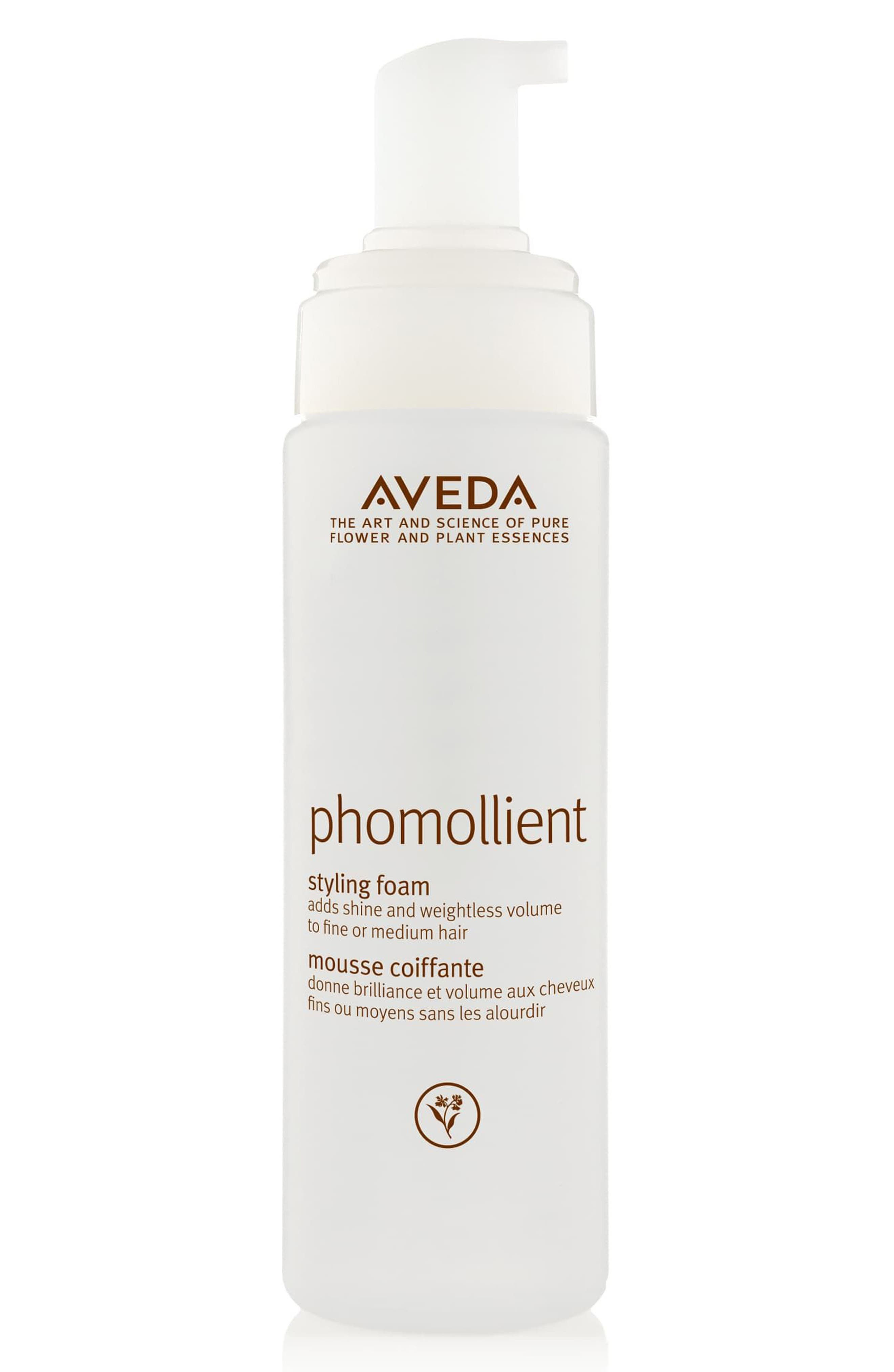 AVEDA, phomollient<sup>™</sup> Styling Foam, Main thumbnail 1, color, NO COLOR