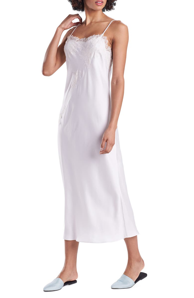 Natori Tops L'AMOUR LACE TRIMMED NIGHTGOWN