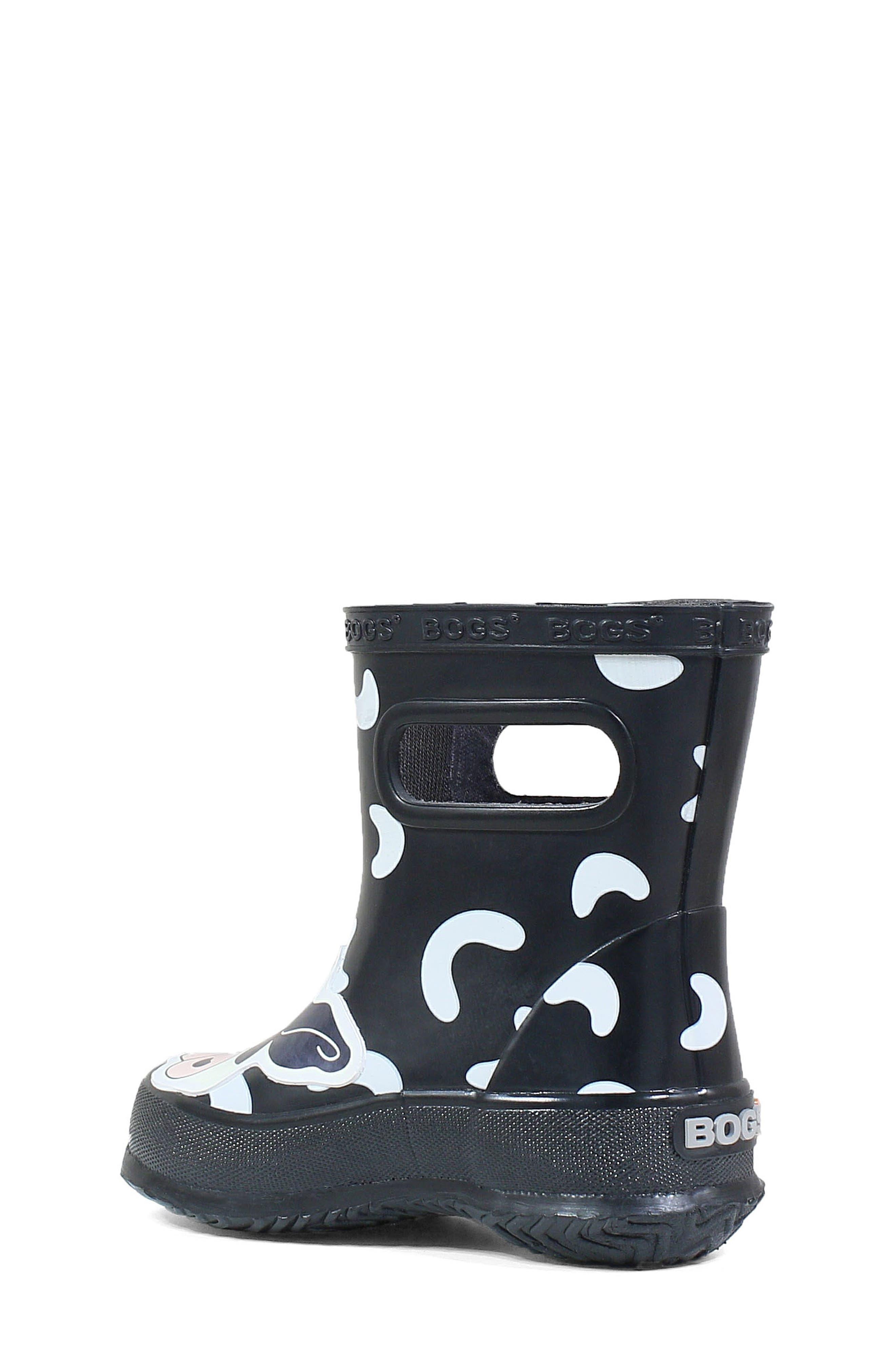 BOGS, Animal Skipper Waterproof Rain Boot, Alternate thumbnail 2, color, 009