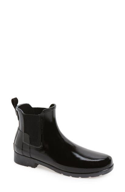 Hunter Boots ORIGINAL REFINED CHELSEA WATERPROOF RAIN BOOT