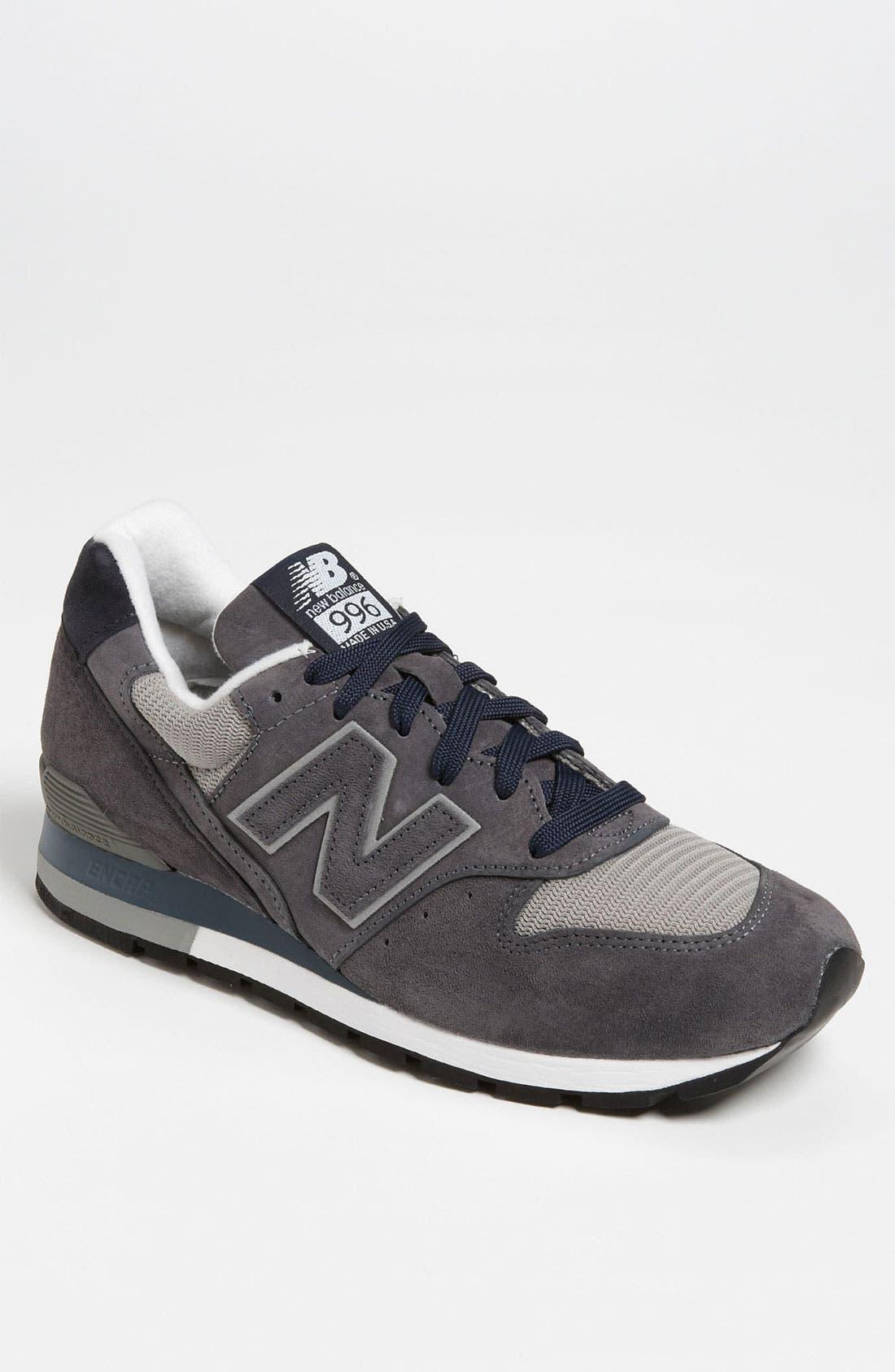 NEW BALANCE, '996' Sneaker, Main thumbnail 1, color, 030