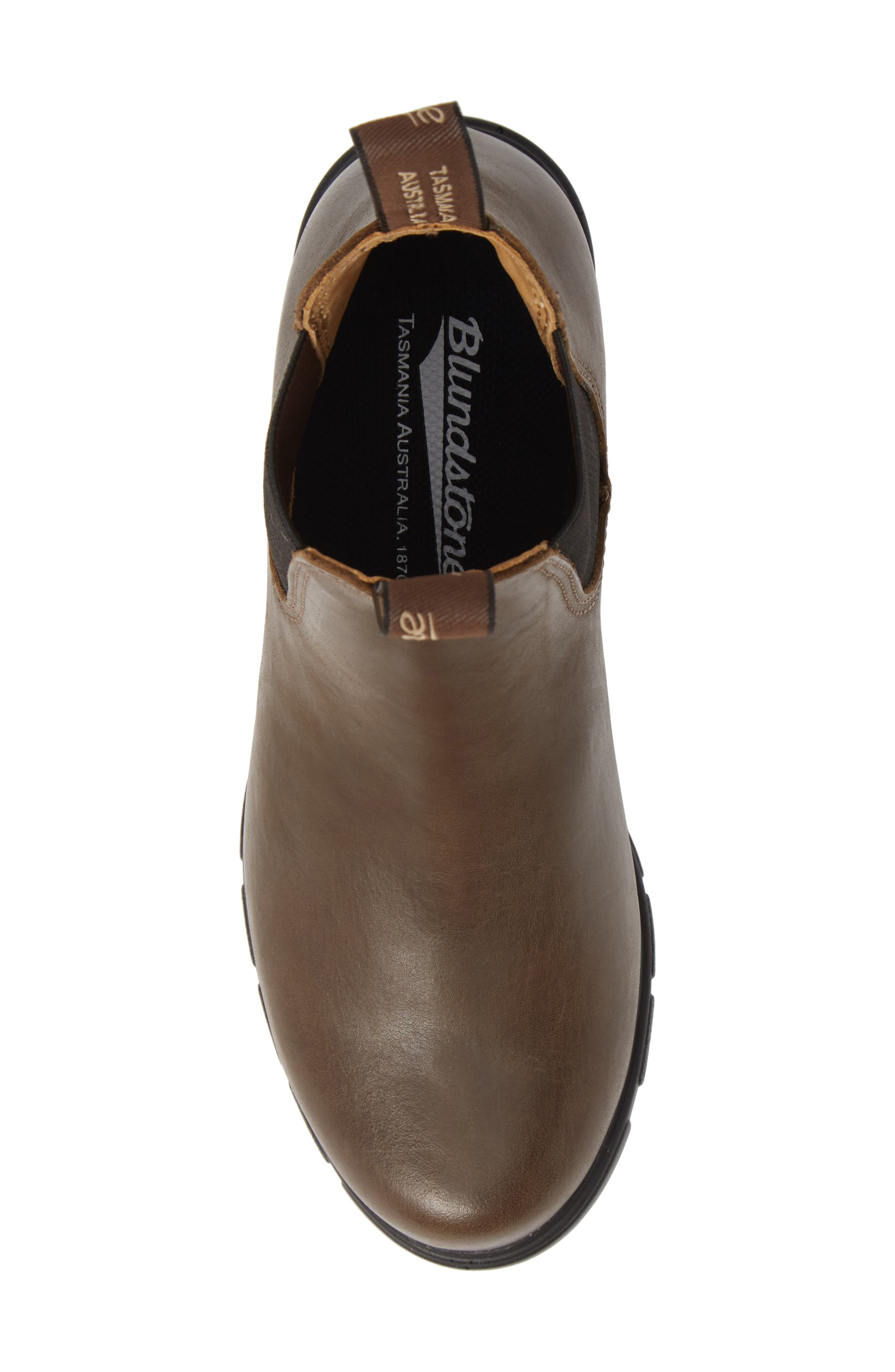 BLUNDSTONE FOOTWEAR, Blundstone 1671 Chelsea Boot, Alternate thumbnail 5, color, ANTIQUE TAUPE LEATHER