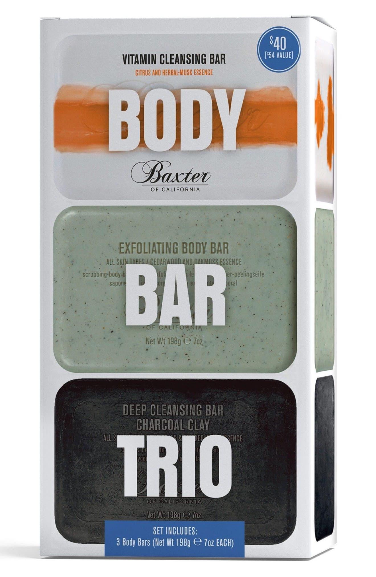 BAXTER OF CALIFORNIA, Body Bar Trio, Alternate thumbnail 2, color, NO COLOR