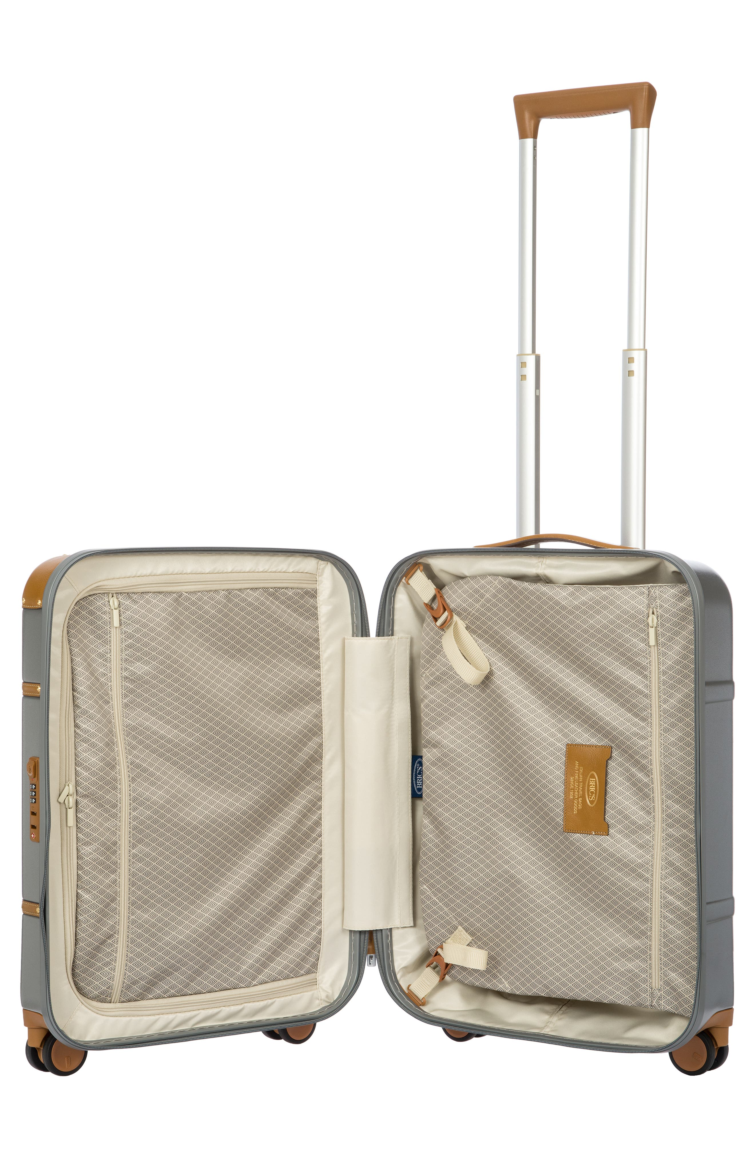 BRIC'S, Bellagio 2.0 21-Inch Rolling Carry-On, Alternate thumbnail 9, color, SILVER