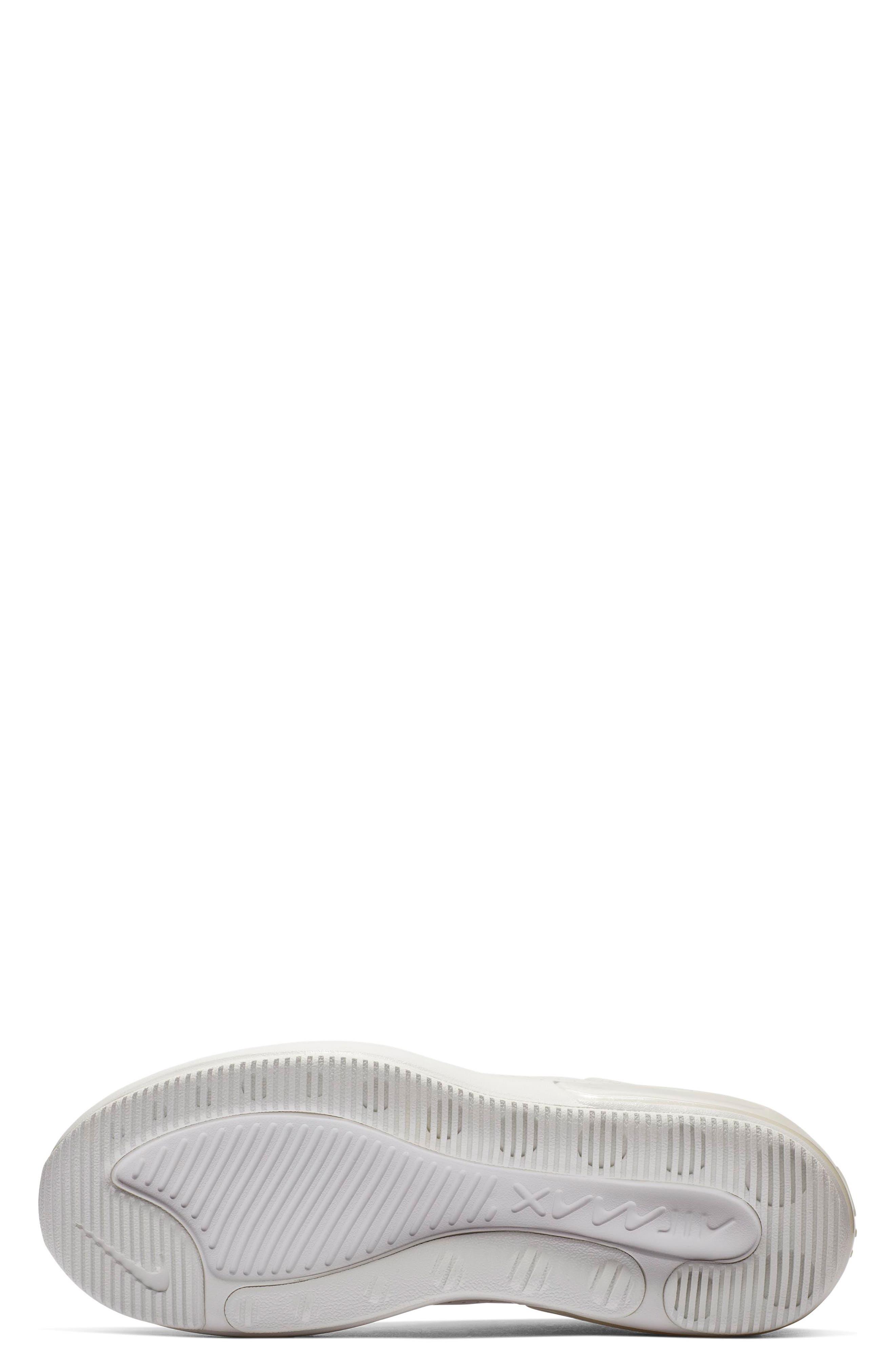 NIKE, Air Max DIA SE Running Shoe, Alternate thumbnail 4, color, WHITE/ ALUMINUM/ WHITE