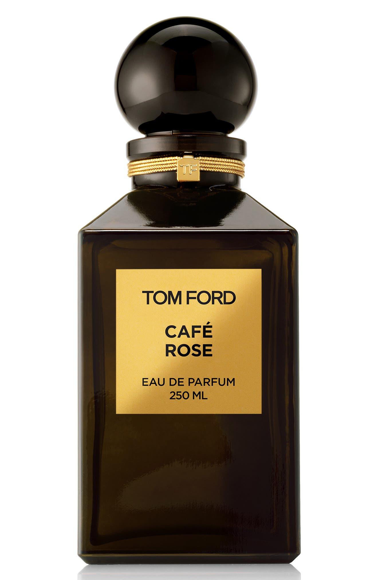 TOM FORD, Private Blend Café Rose Eau de Parfum Decanter, Main thumbnail 1, color, NO COLOR