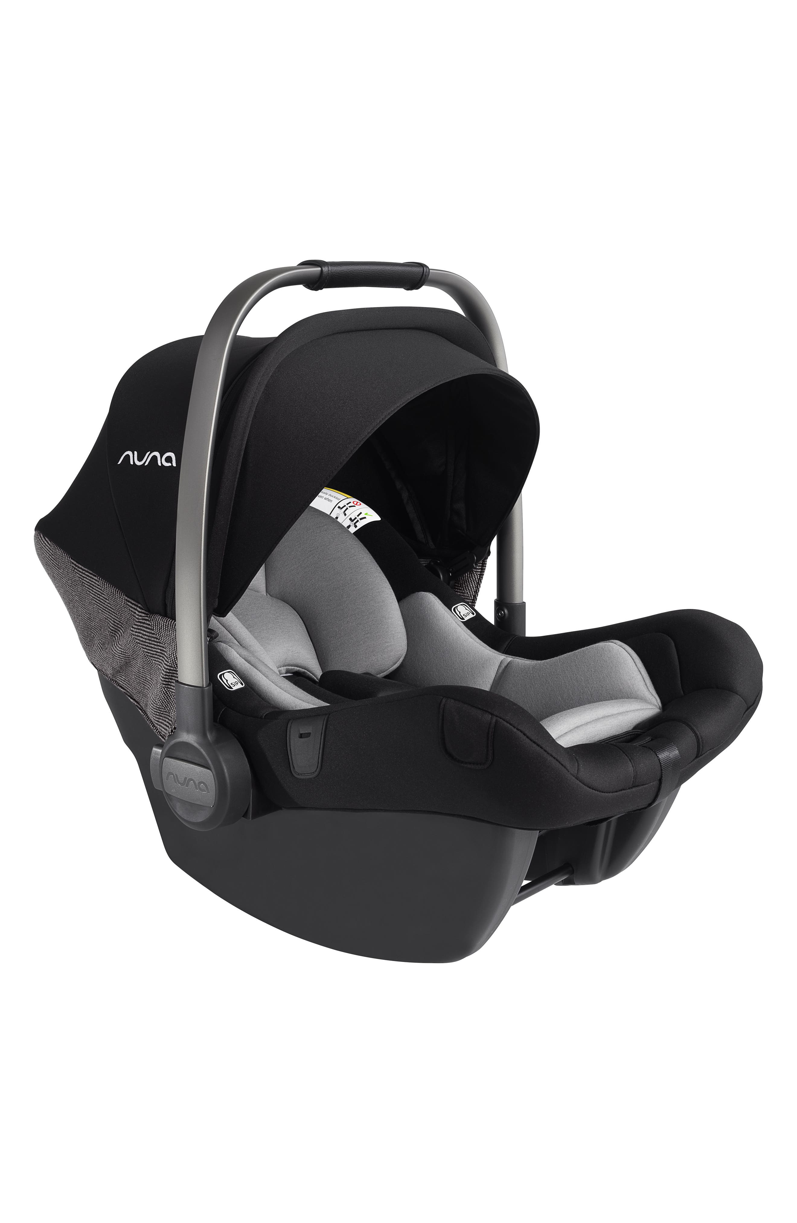 NUNA, 2019 MIXX<sup>™</sup> Stroller & PIPA<sup>™</sup> Lite LX Infant Car Seat Set Travel System, Alternate thumbnail 6, color, VERONA CAVIAR