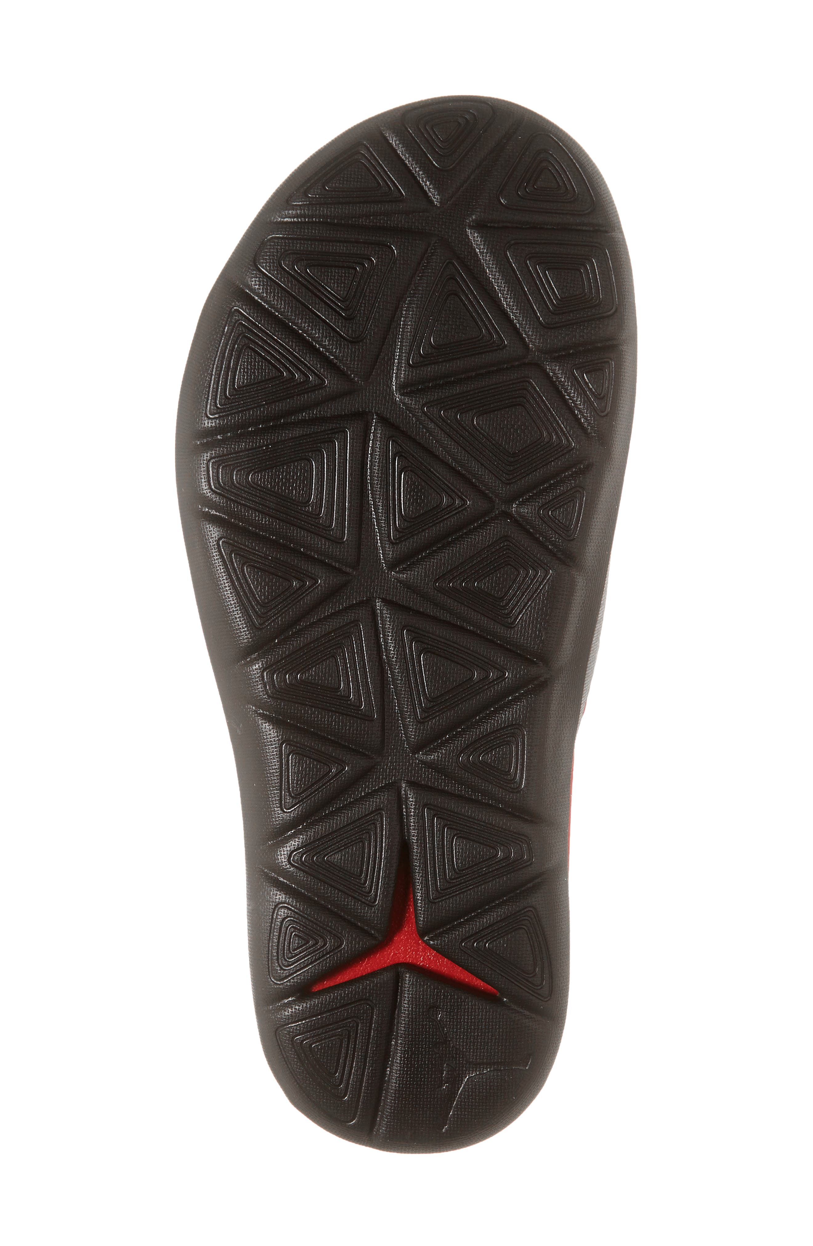 JORDAN, Hydro 7 V2 Sandal, Alternate thumbnail 6, color, GYM RED/ BLACK