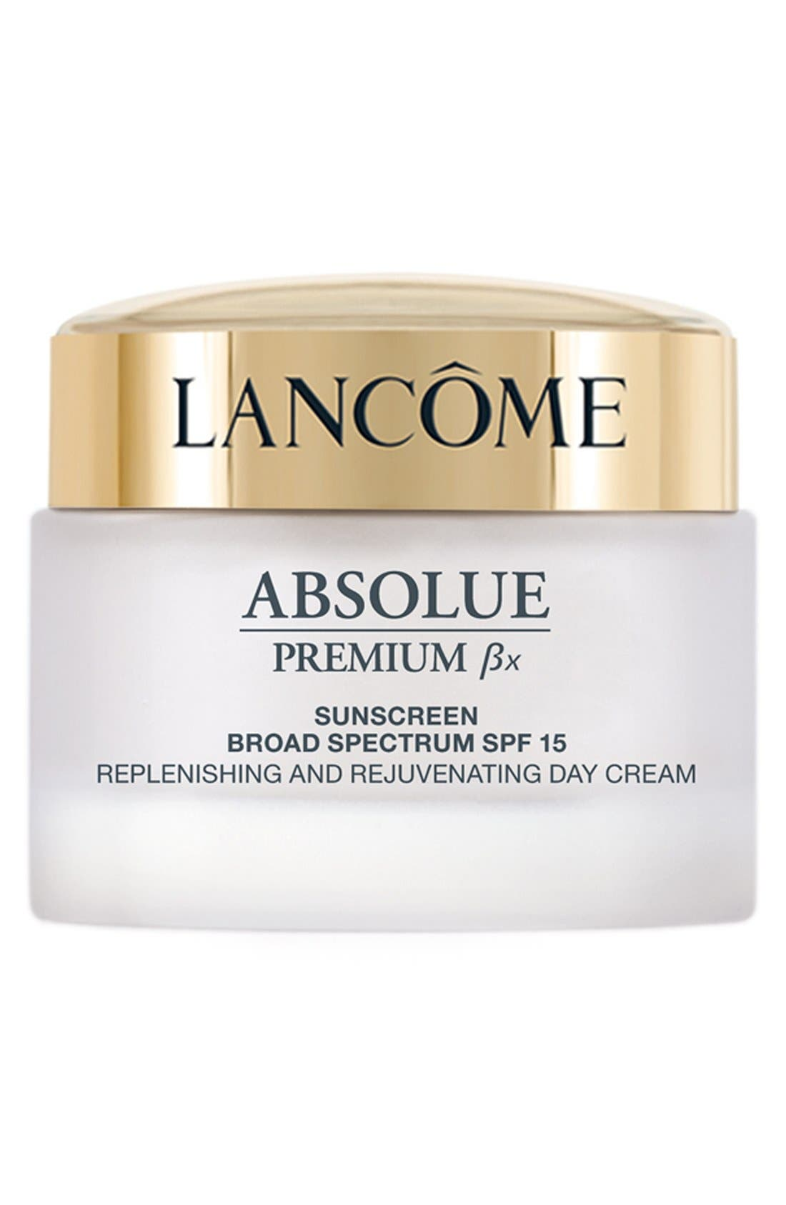LANCÔME, Absolue Premium Bx SPF 15 Moisturizer Cream, Main thumbnail 1, color, NO COLOR
