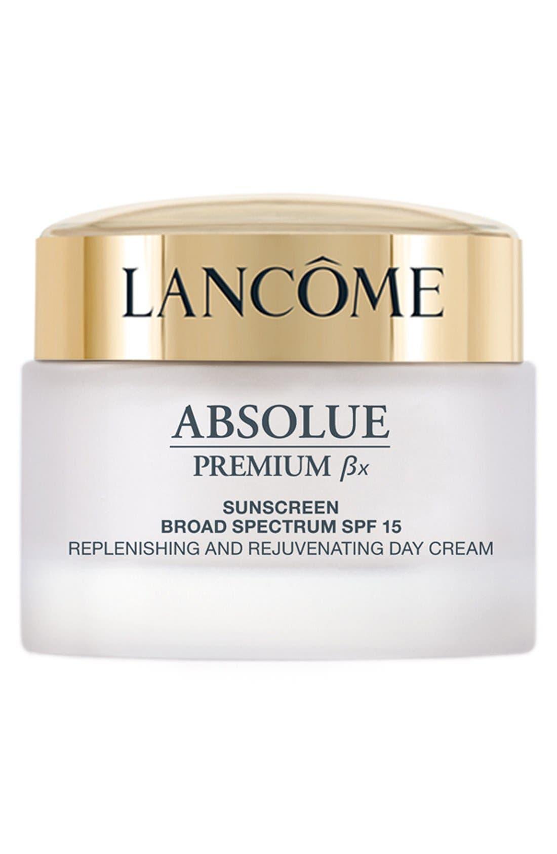 LANCÔME Absolue Premium Bx SPF 15 Moisturizer Cream, Main, color, NO COLOR