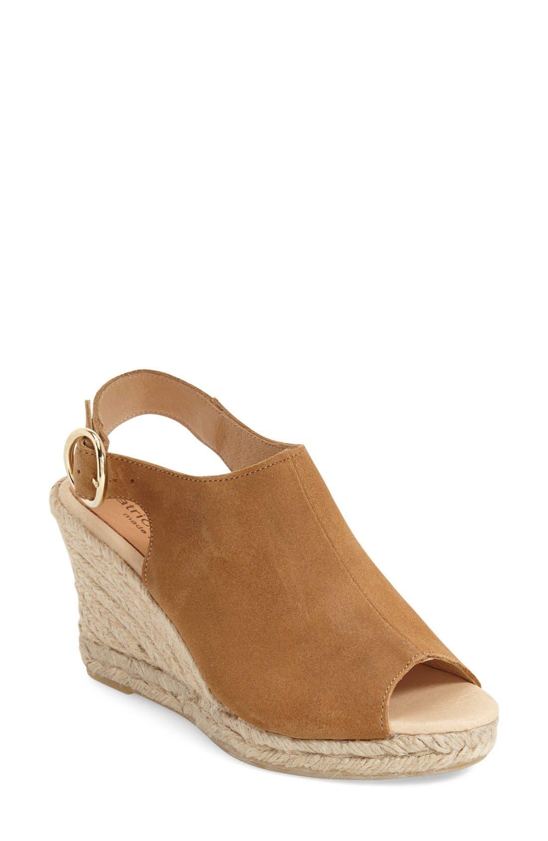 PATRICIA GREEN 'Belle' Espadrille Wedge Sandal, Main, color, 200