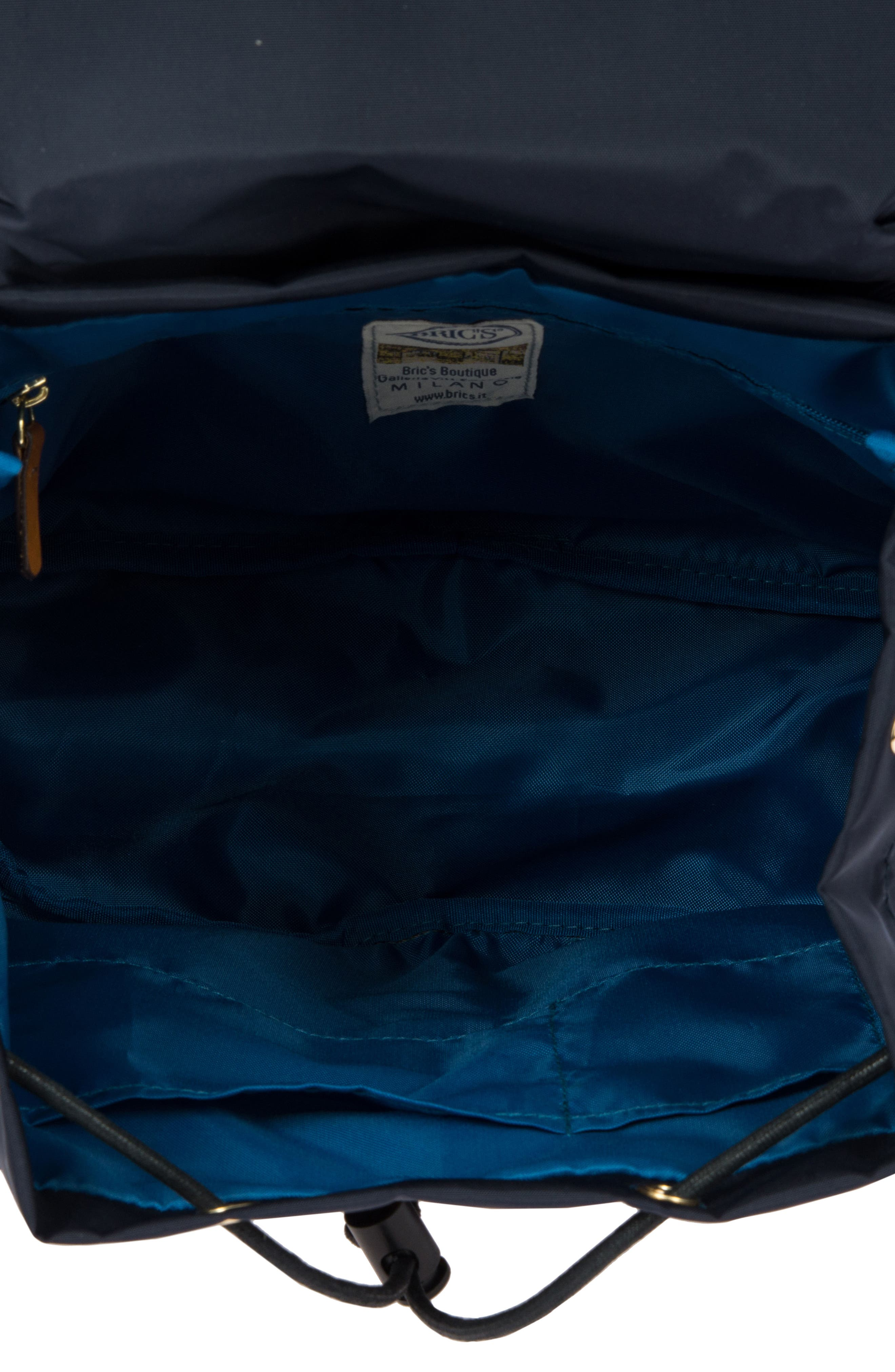BRIC'S, X-Travel City Backpack, Alternate thumbnail 3, color, NAVY