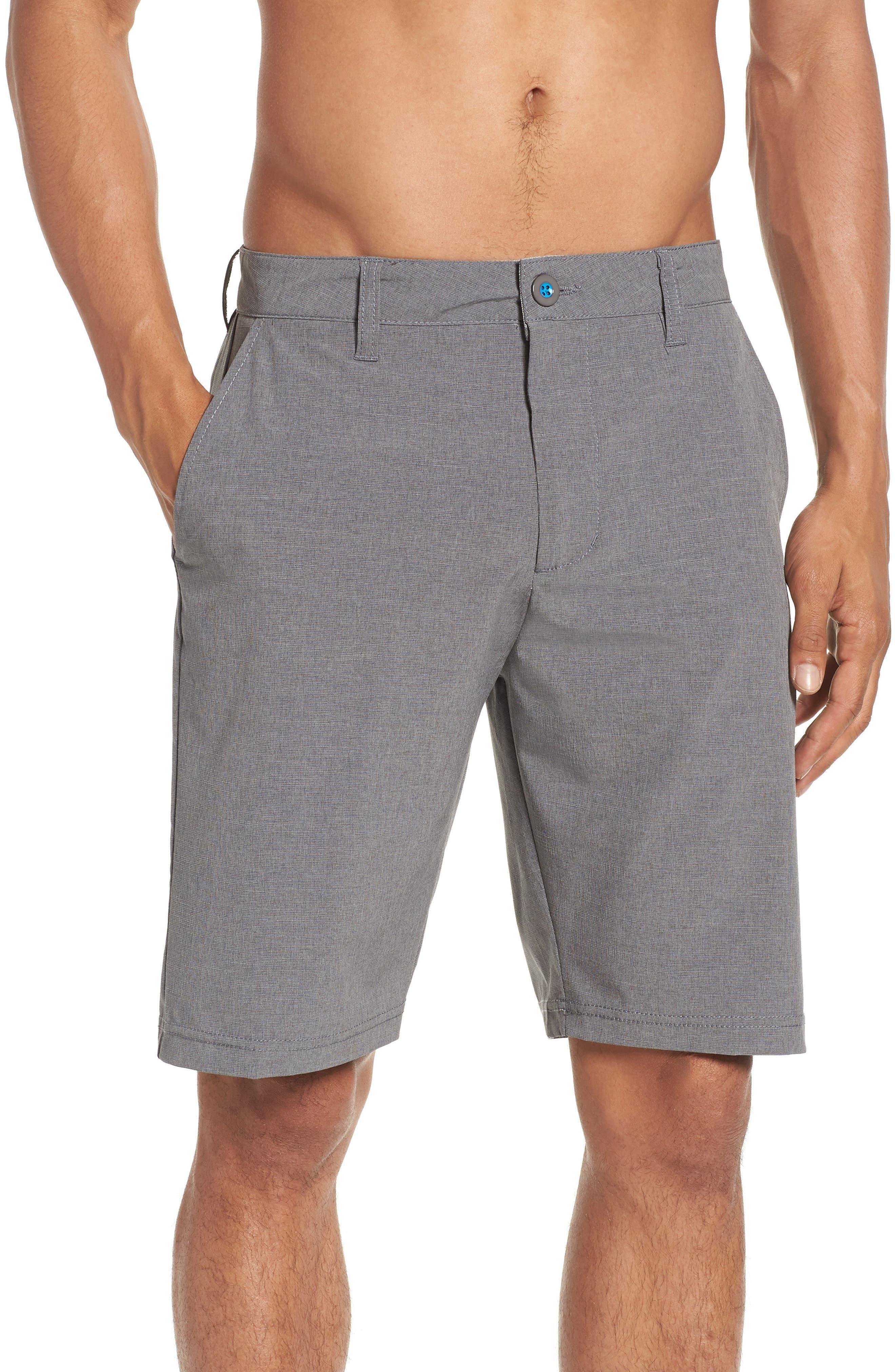 DEVEREUX, Cruiser Hybrid Shorts, Alternate thumbnail 4, color, CHARCOAL