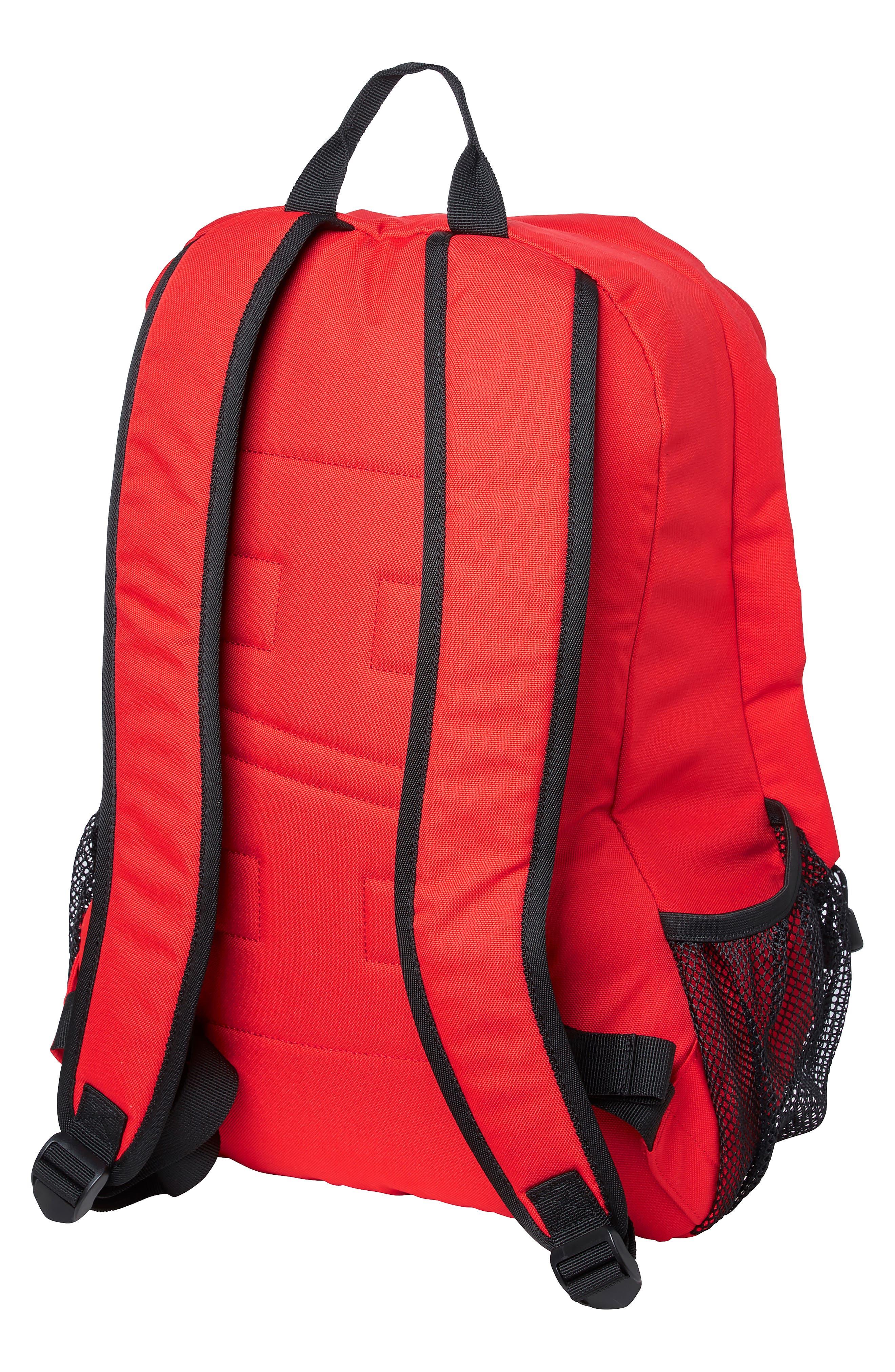 HELLY HANSEN, Dublin Backpack, Alternate thumbnail 2, color, ALERT RED
