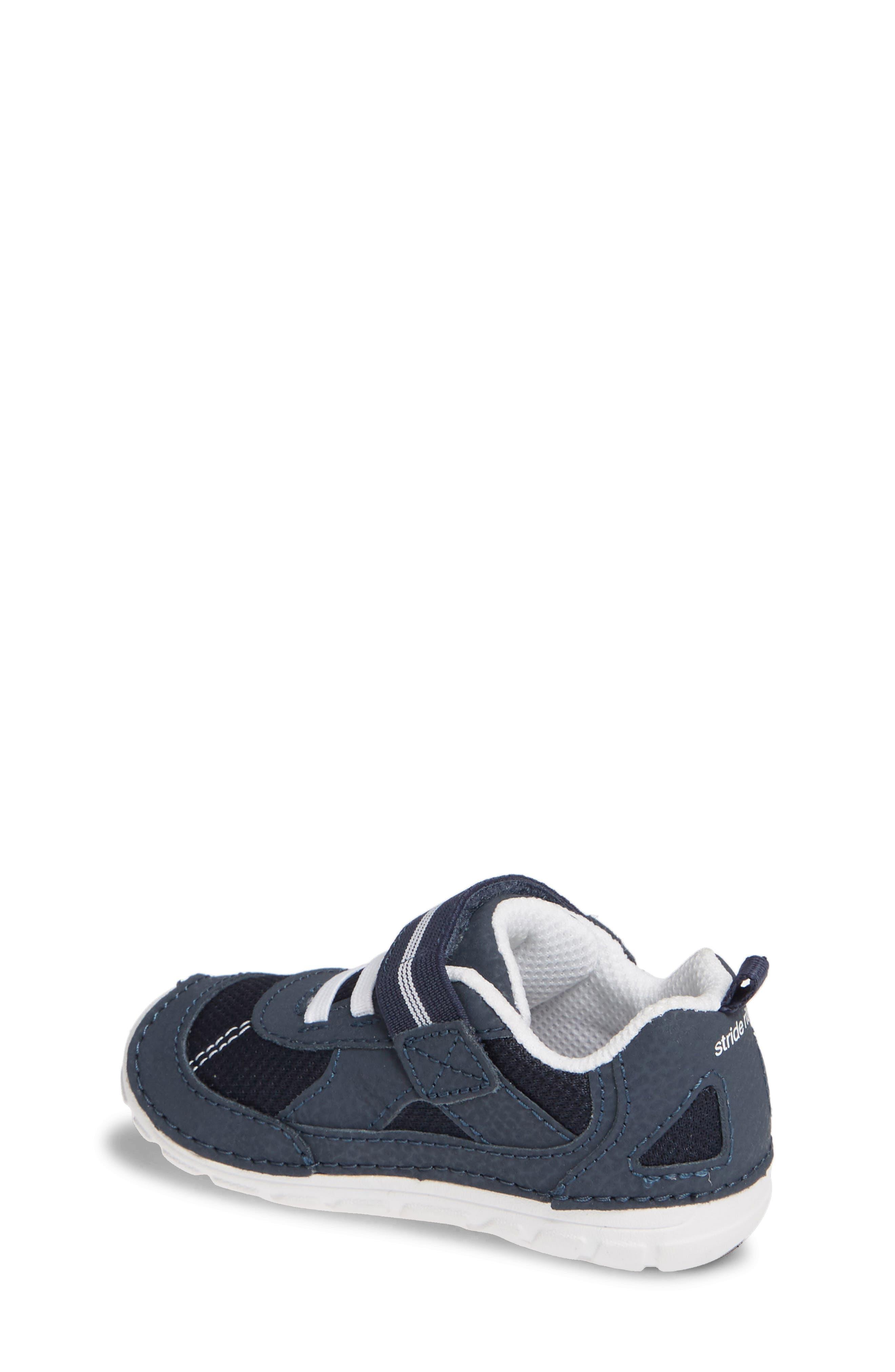 STRIDE RITE, Soft Motion<sup>™</sup> Jamie Sneaker, Alternate thumbnail 2, color, NAVY/ WHITE