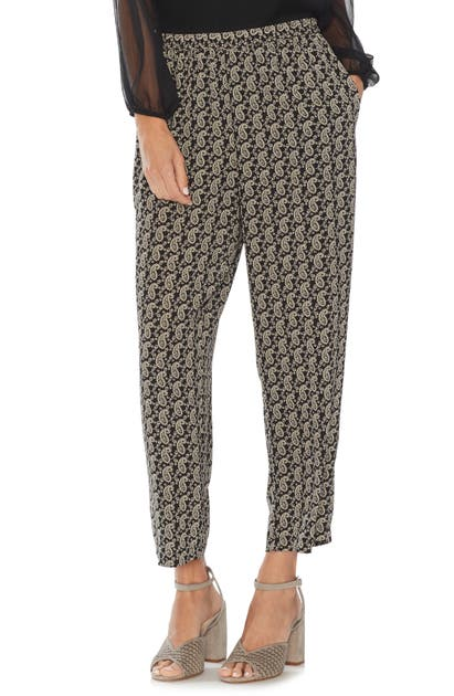 Vince Camuto Pants PAISLEY PULL-ON PANTS