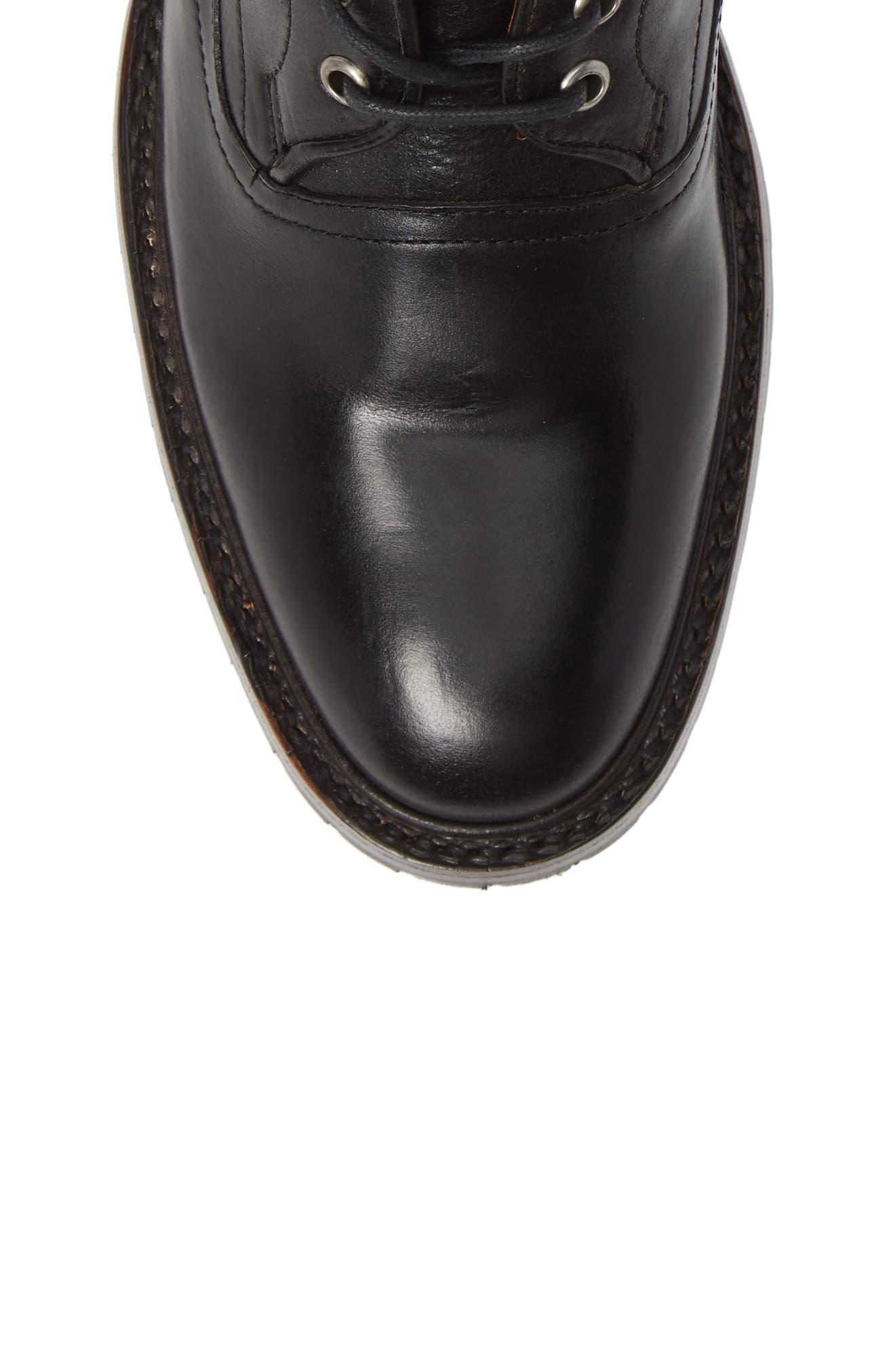 TWO24, by Ariat Fairfax Plain Toe Boot, Alternate thumbnail 5, color, BLACK LEATHER