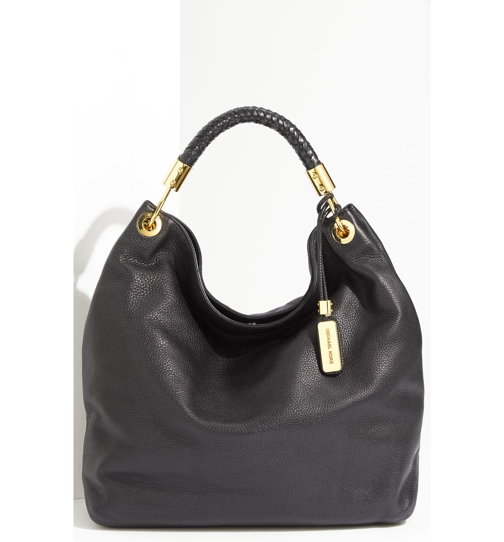 2412ab4a506144 Michael Kors 'Skorpios - Large' Leather Hobo | Nordstrom