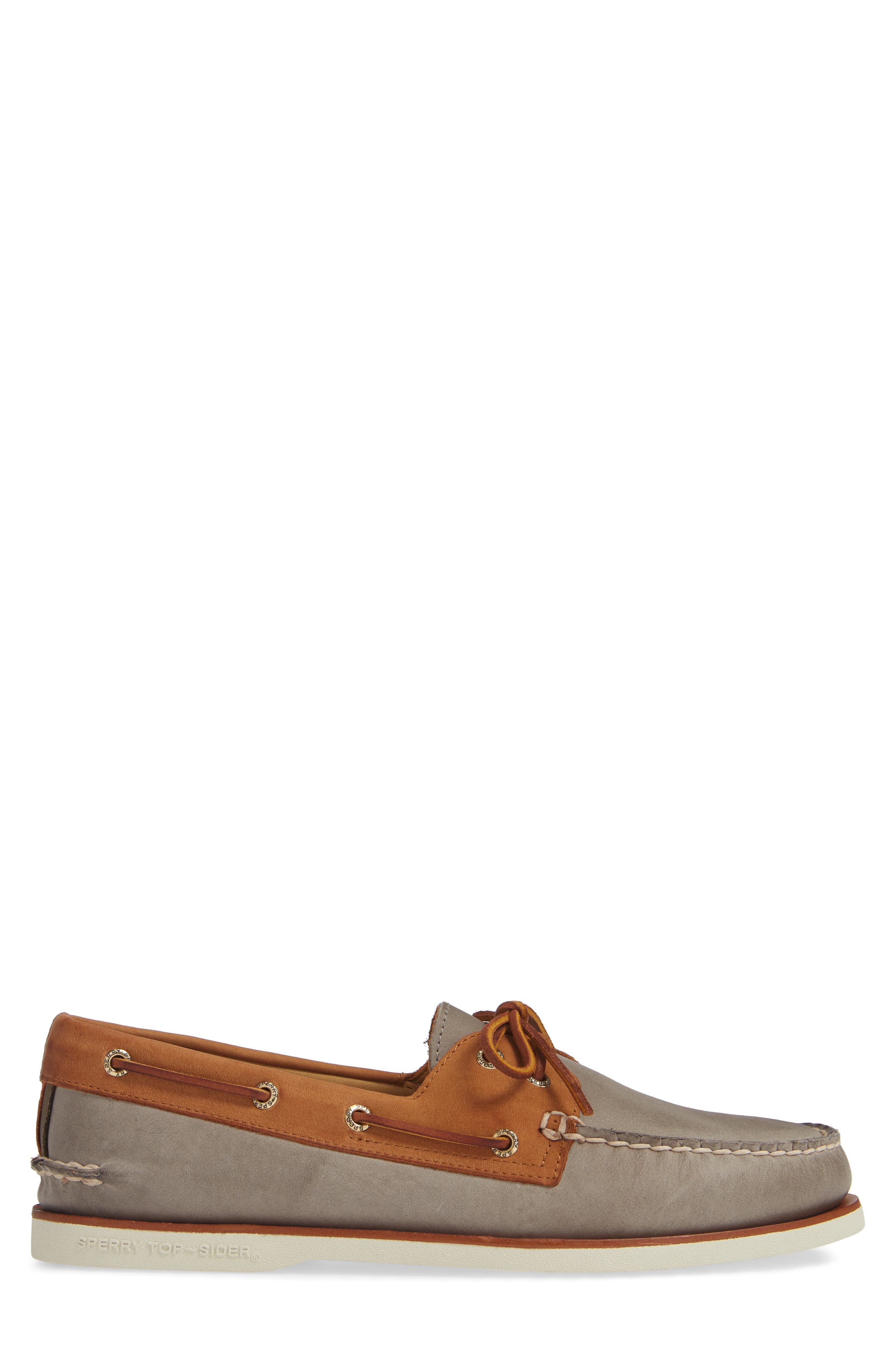 SPERRY, Gold Cup AO Boat Shoe, Alternate thumbnail 3, color, 020