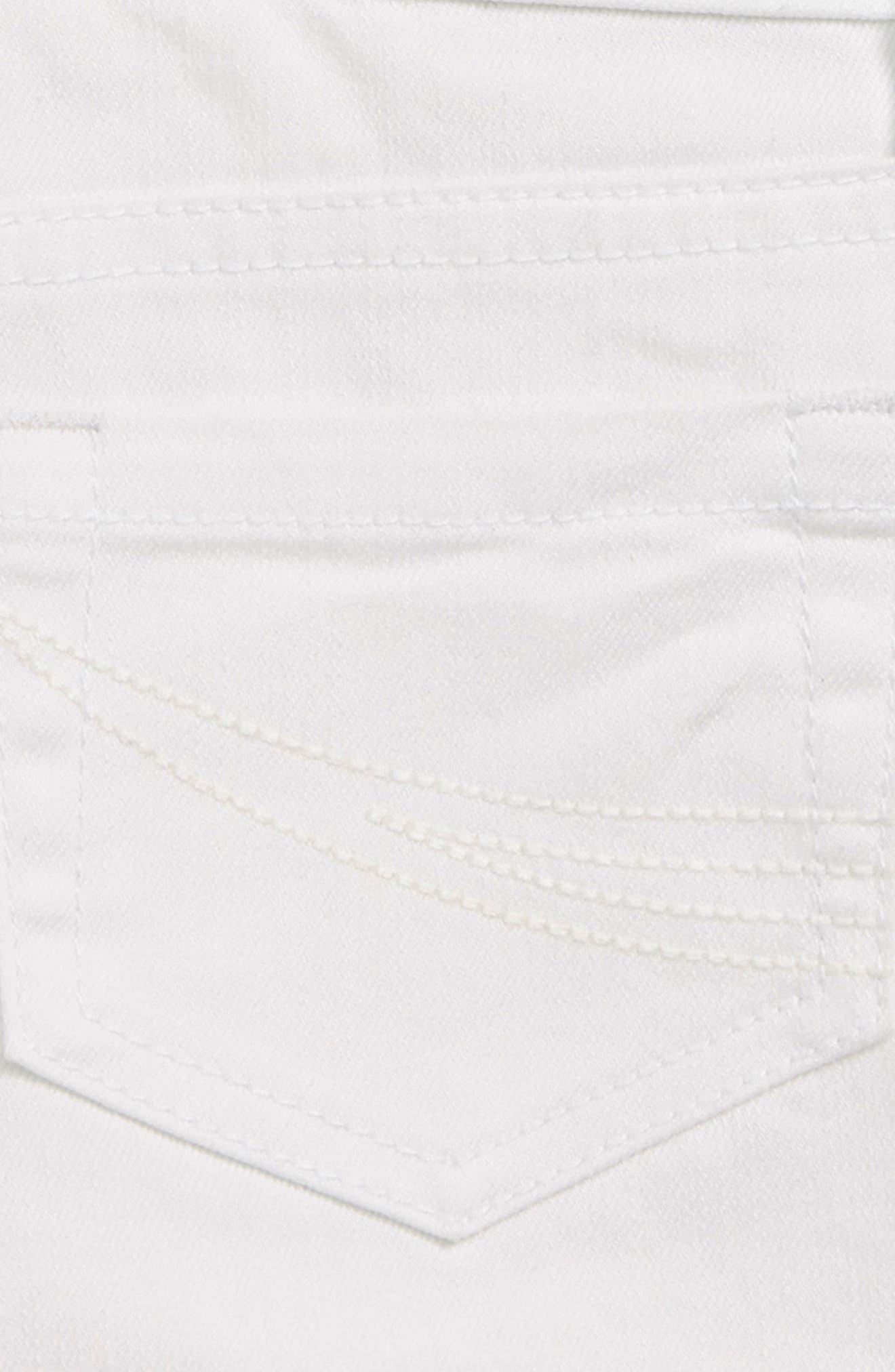 O'NEILL, Waidly Denim Shorts, Alternate thumbnail 3, color, WHITE