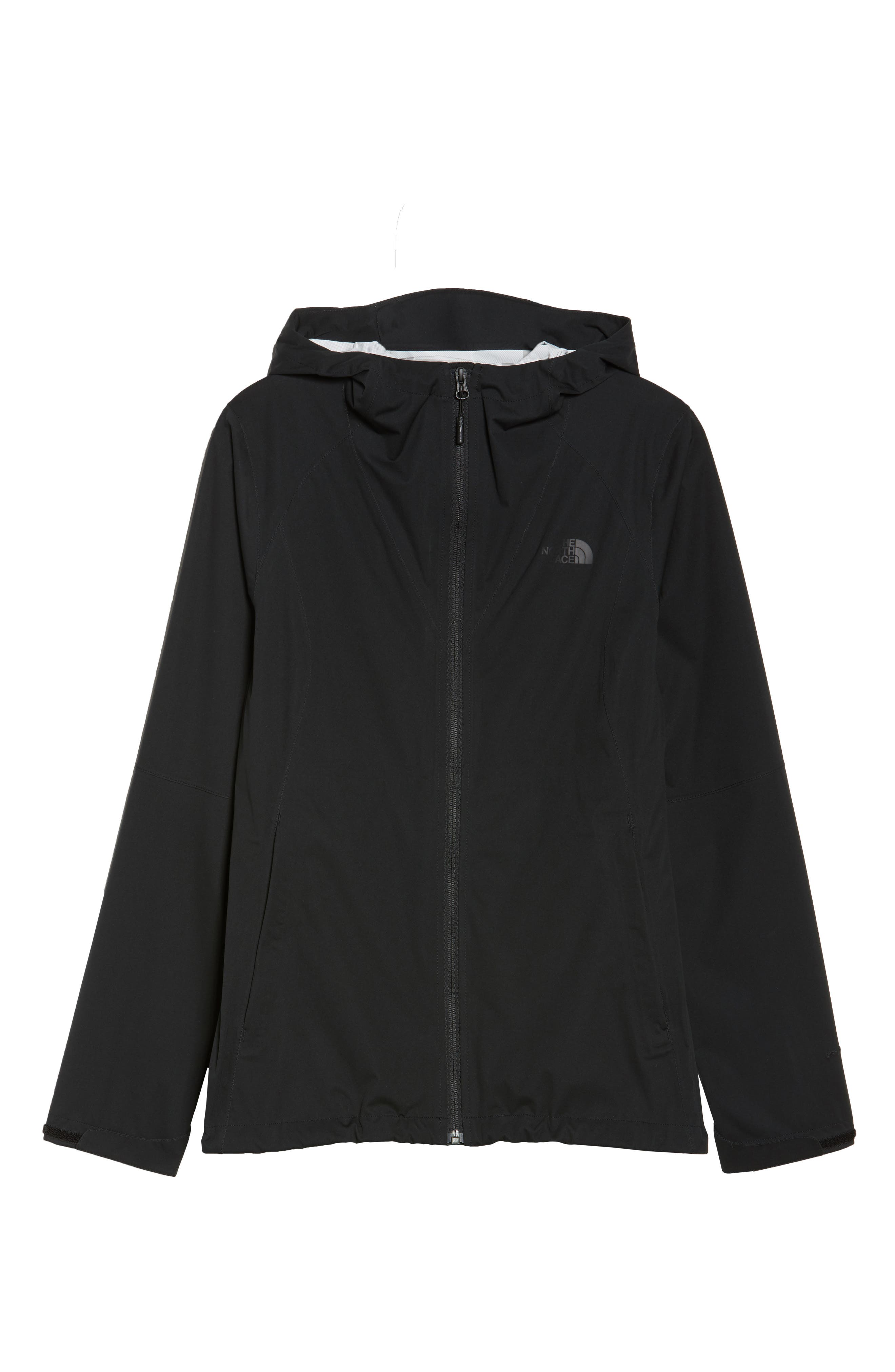 THE NORTH FACE, Allproof Stretch Jacket, Alternate thumbnail 6, color, 001