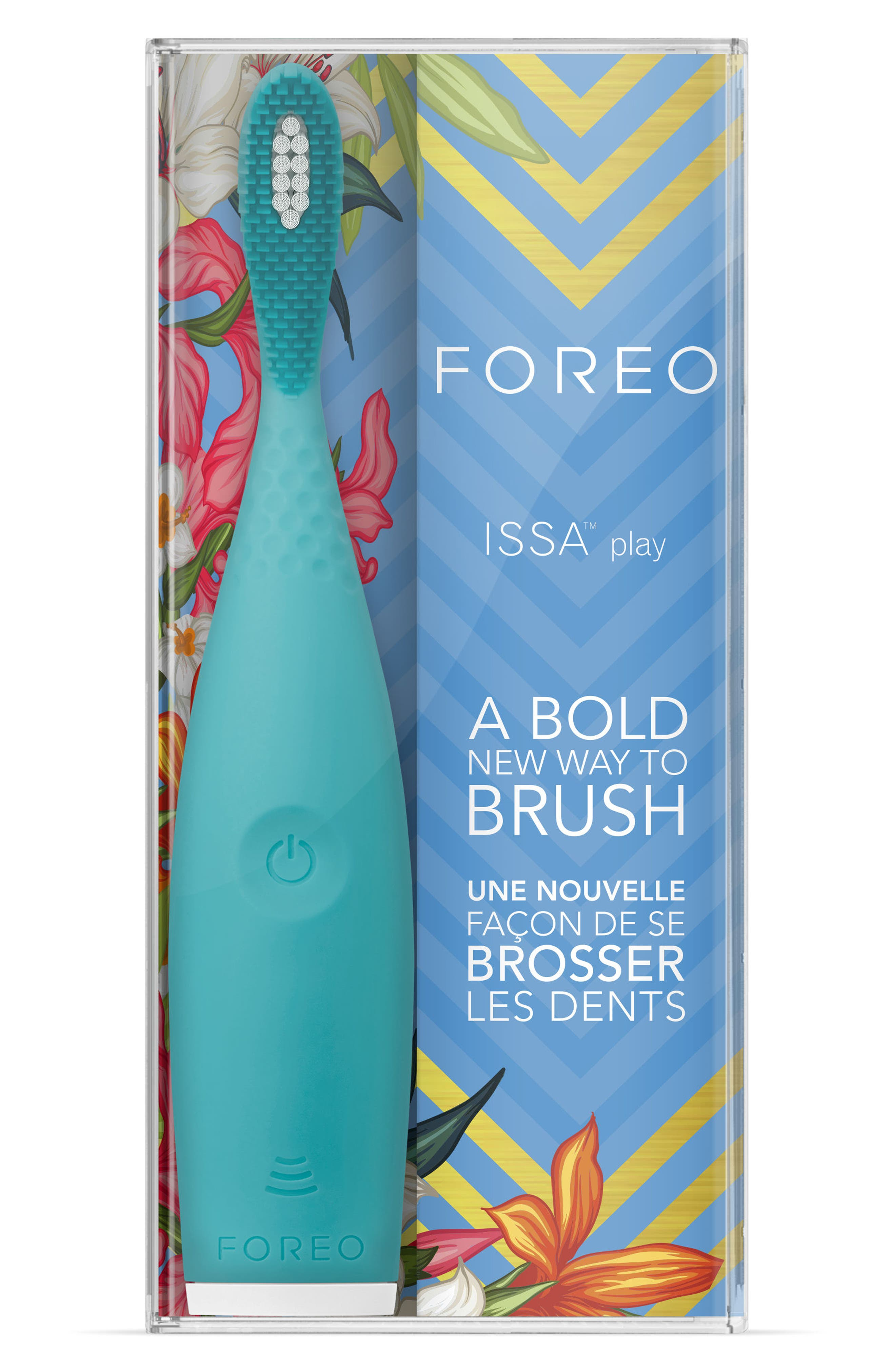 FOREO, ISSA Play Sonic Toothbrush, Alternate thumbnail 5, color, SUMMER SKY