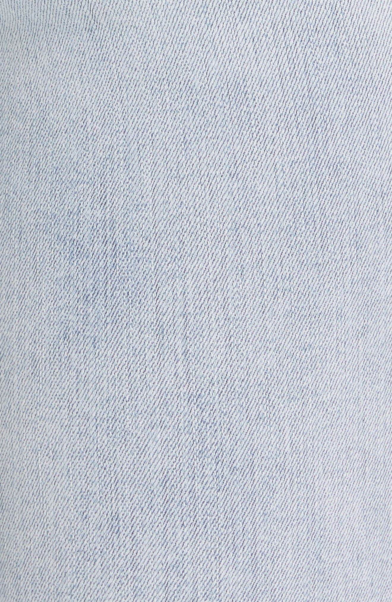 RAG & BONE, JEAN Ripped Ankle Skinny Jeans, Alternate thumbnail 6, color, 450