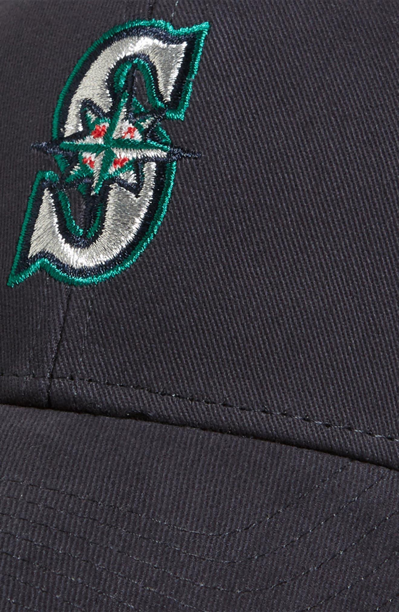 '47, Seattle Mariners Baseball Cap, Alternate thumbnail 3, color, HOME