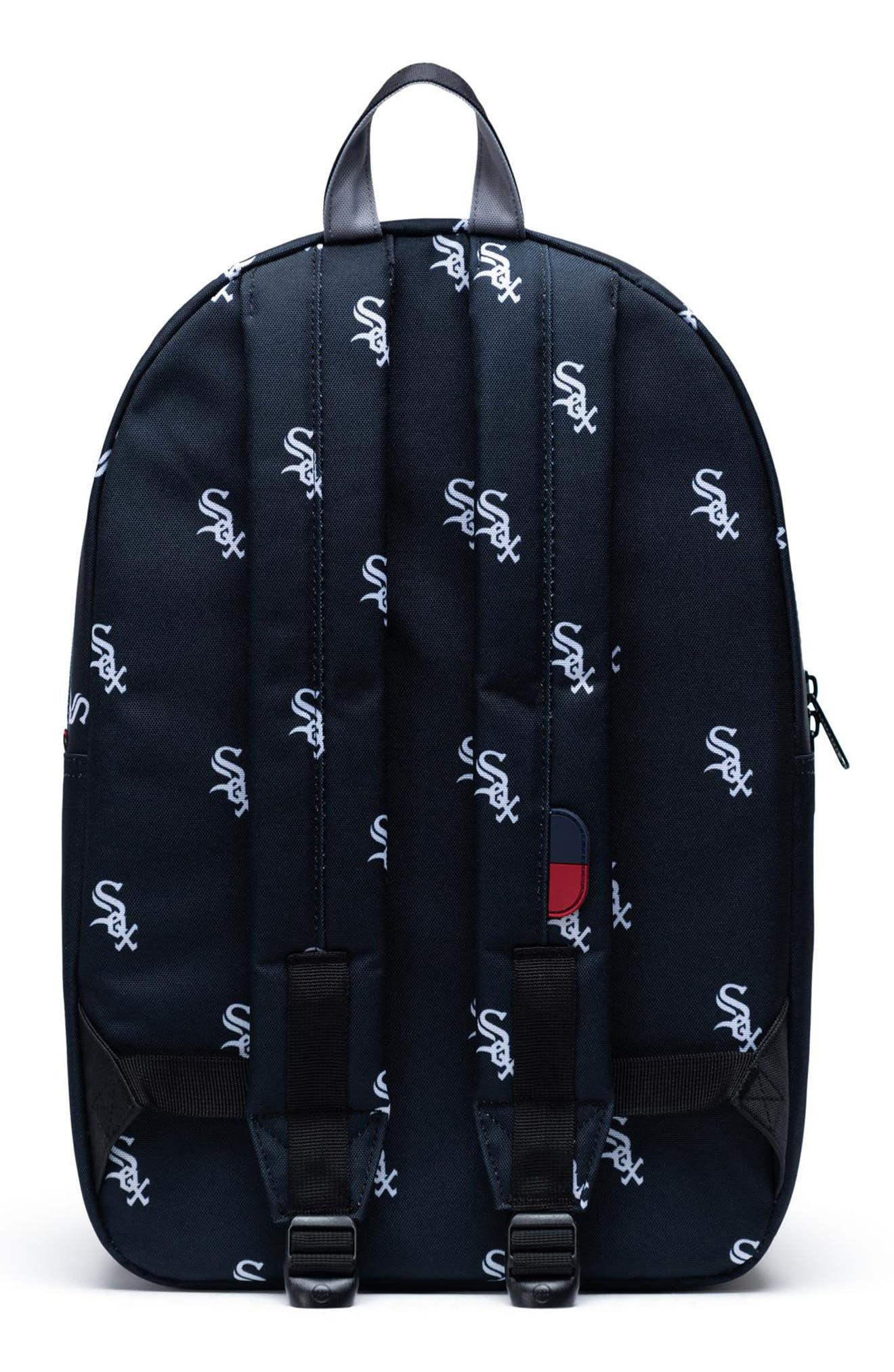 HERSCHEL SUPPLY CO., Settlement - MLB Outfield Backpack, Alternate thumbnail 2, color, CHICAGO WHITE SOX