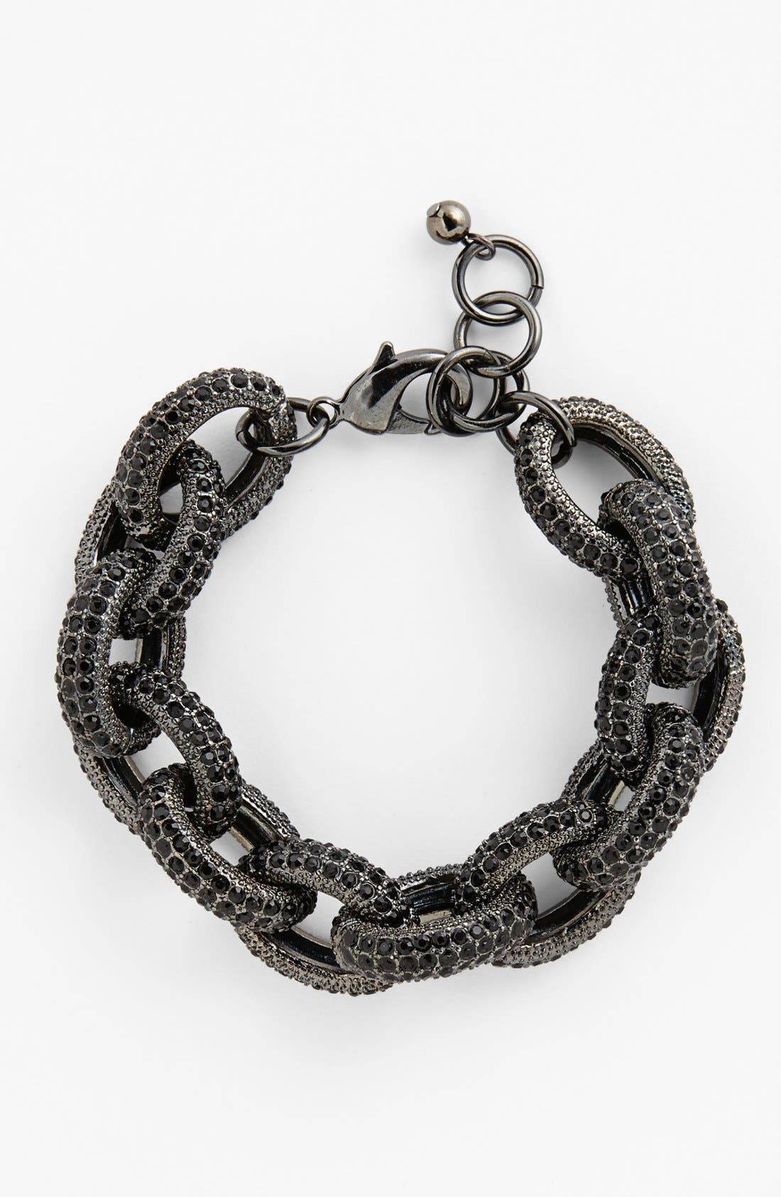 NORDSTROM Pavé Link Bracelet, Main, color, 001
