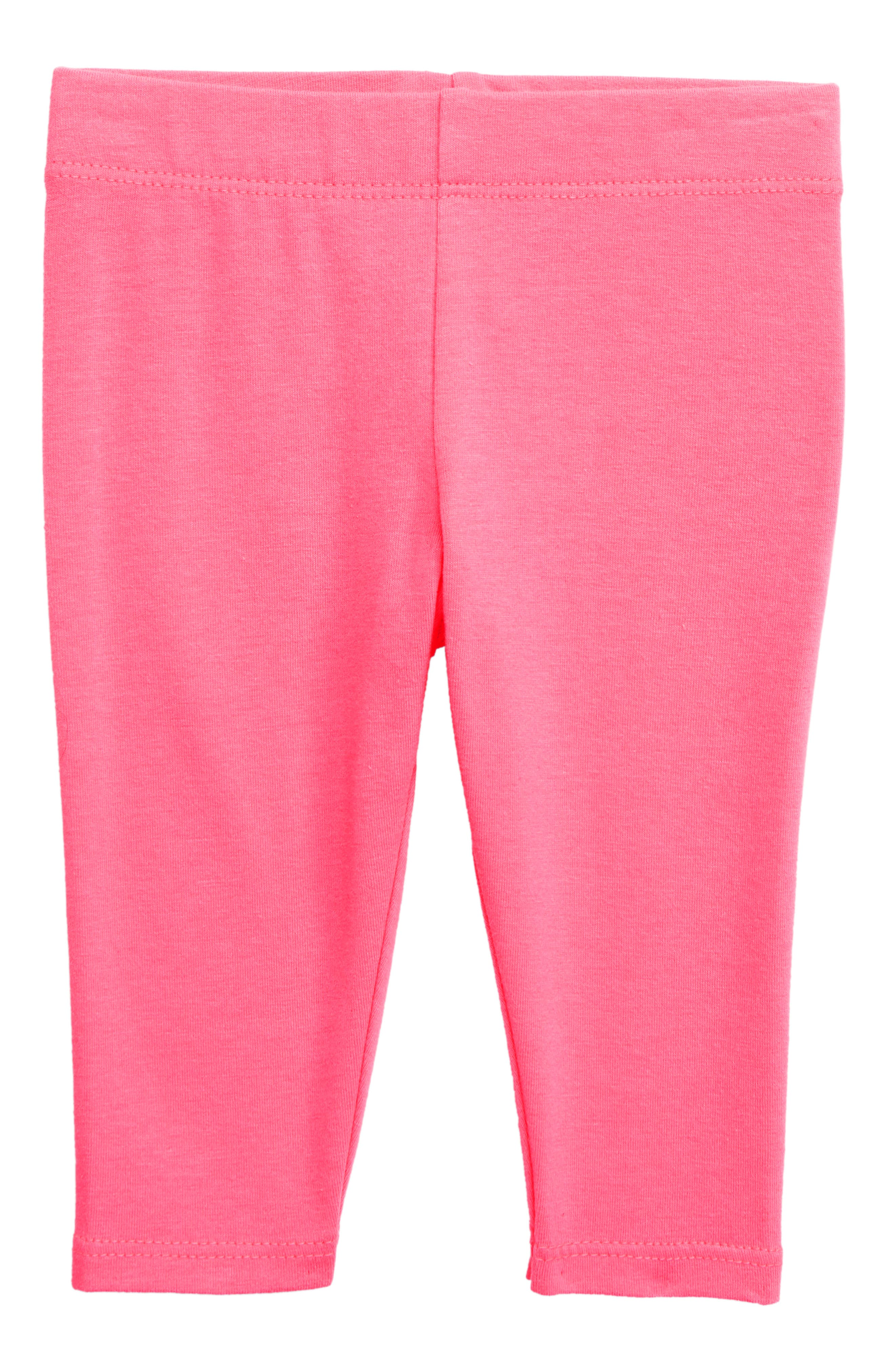 TUCKER + TATE, Essential Leggings, Main thumbnail 1, color, PINK KNOCKOUT