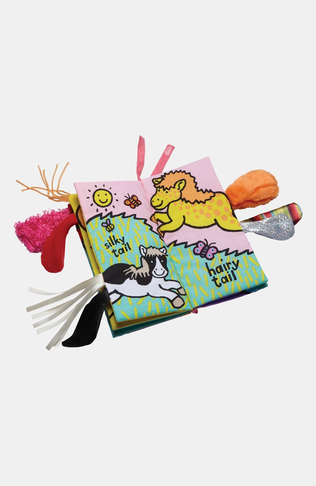 JELLYCAT, 'Pony Tails' Book, Alternate thumbnail 3, color, 000