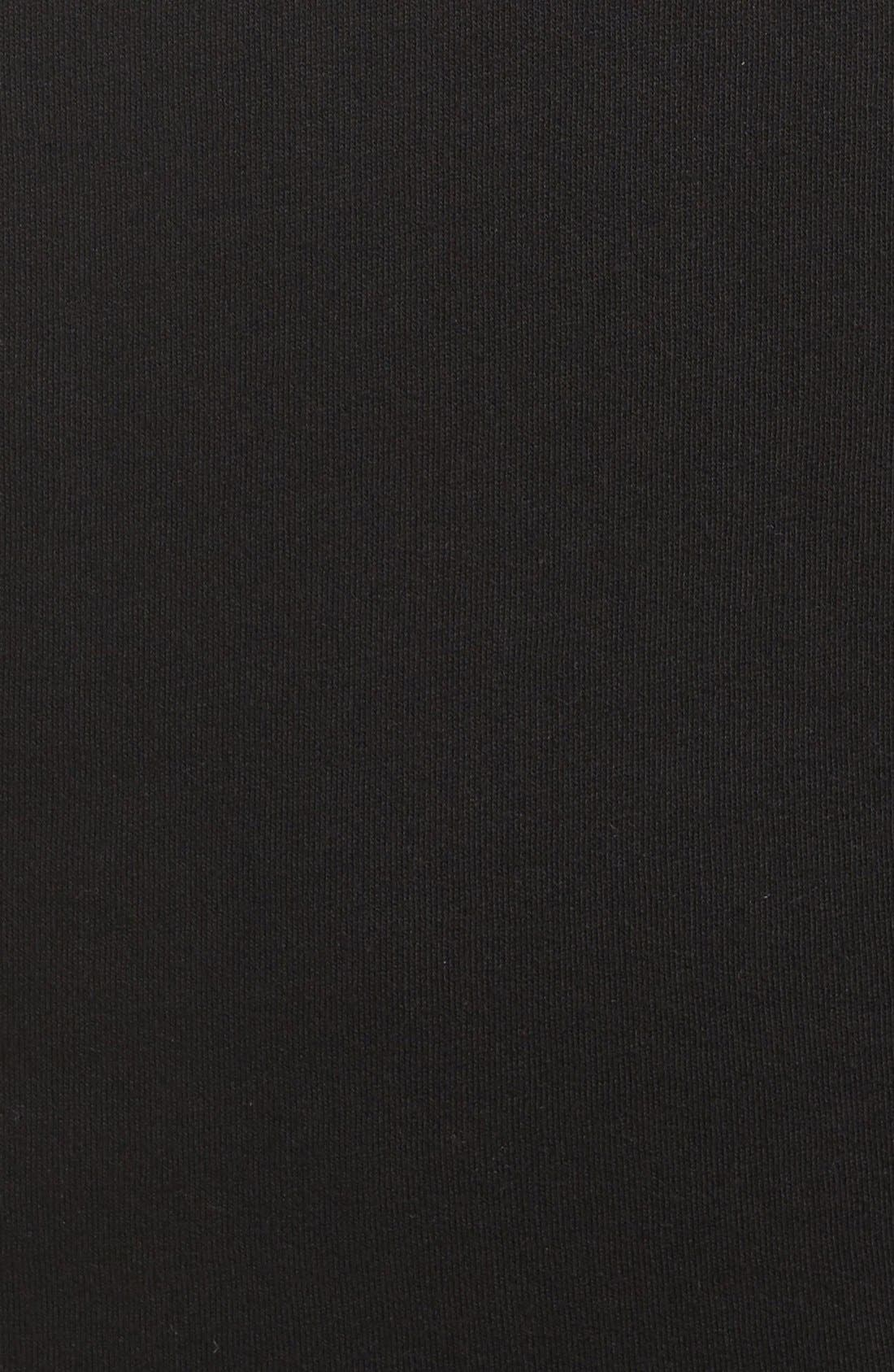 BRUNETTE THE LABEL, 'Babes Who Brunch' Crewneck Sweatshirt, Alternate thumbnail 5, color, 001