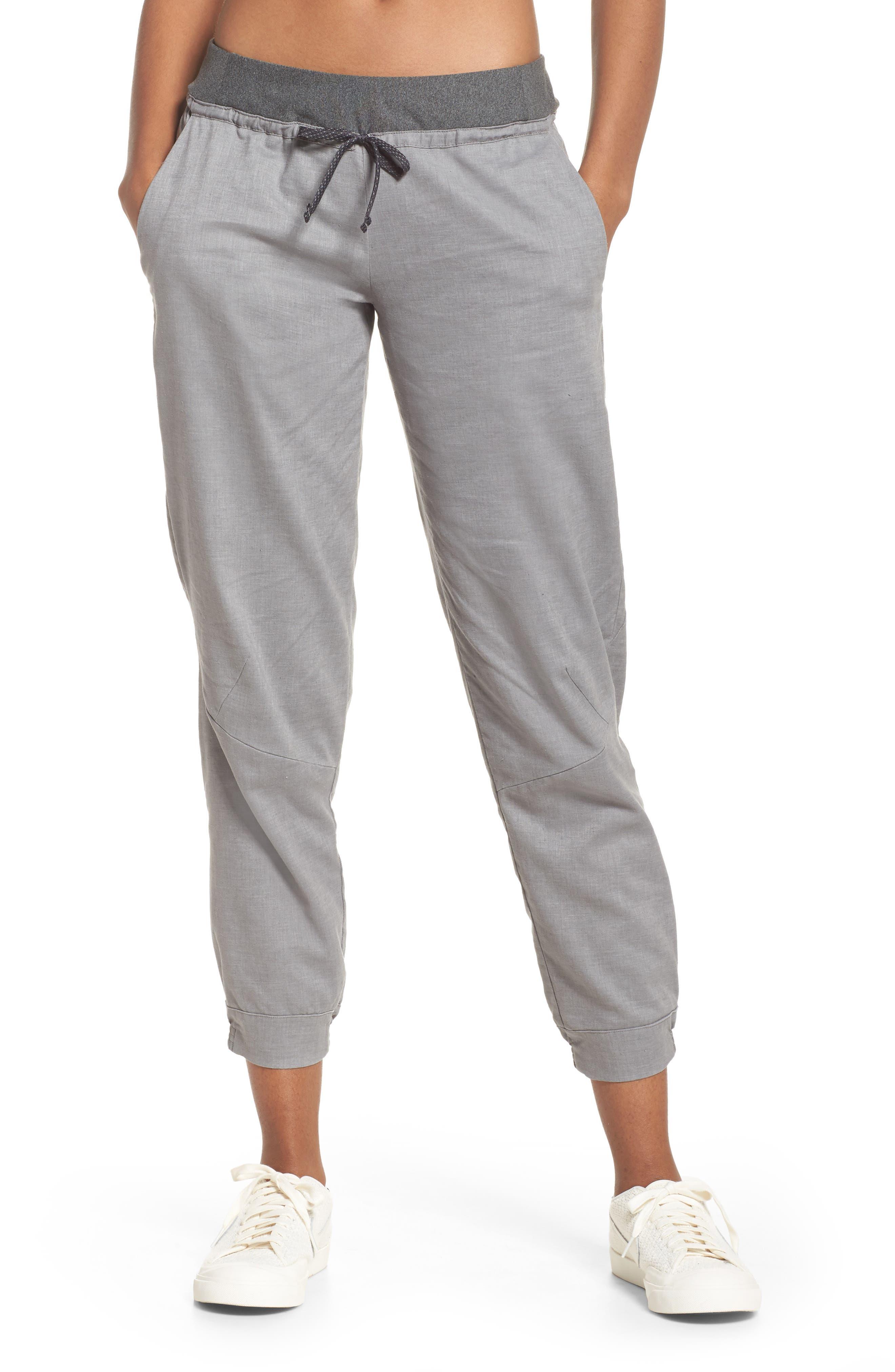 PATAGONIA Women's Hampi Rock Pants, Main, color, FEATHER GREY