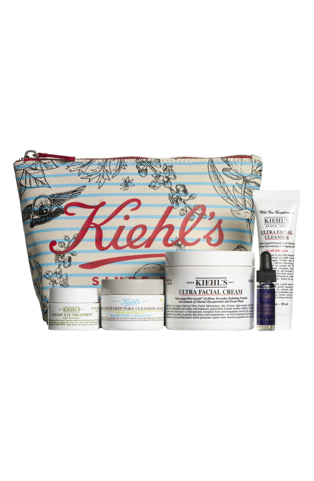 KIEHL'S SINCE 1851, 'Ultra Healthy Skin Favorites' Collection, Main thumbnail 1, color, 000