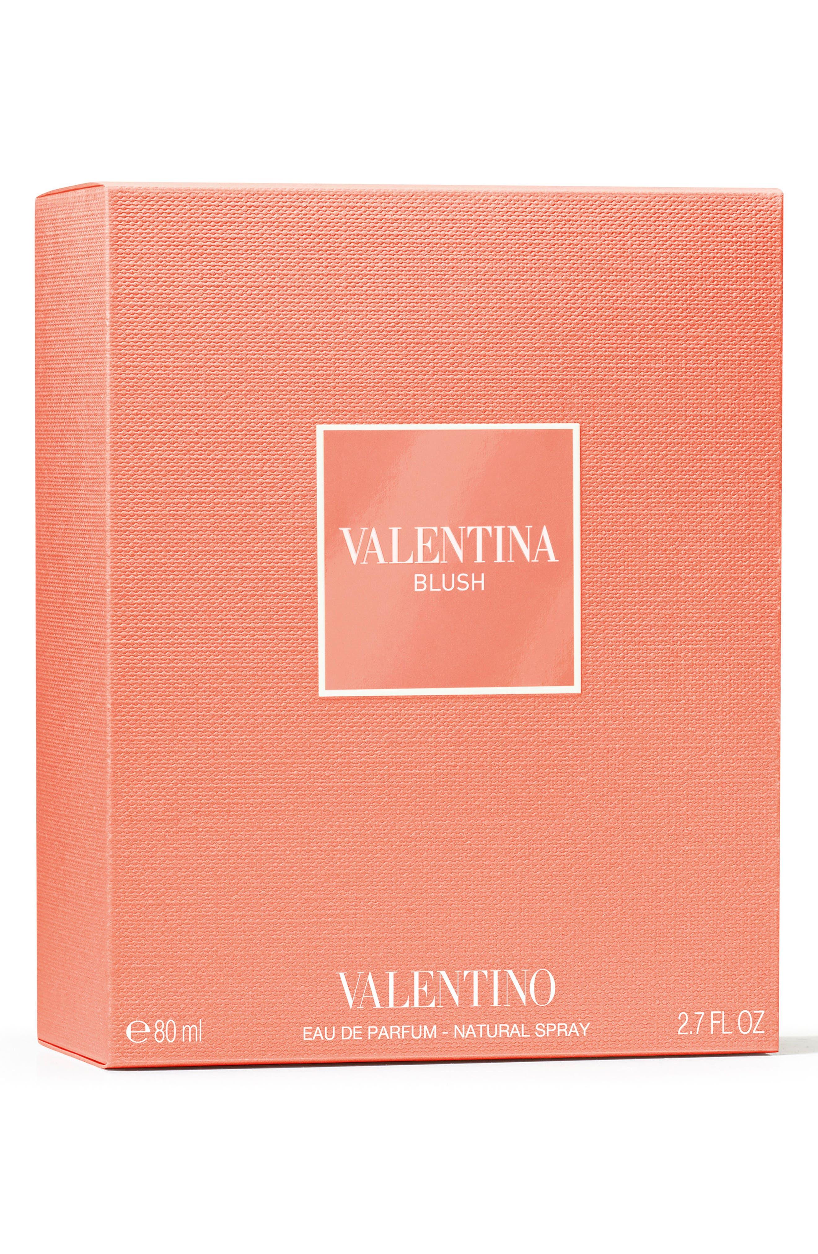 VALENTINO, Valentina Blush Eau de Parfum, Alternate thumbnail 2, color, 000