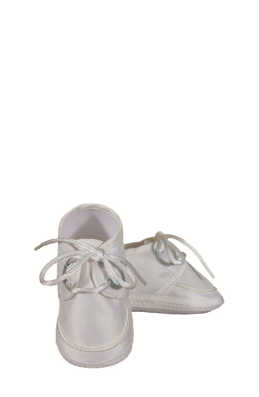 LITTLE THINGS MEAN A LOT, Silk Shoe, Main thumbnail 1, color, WHITE