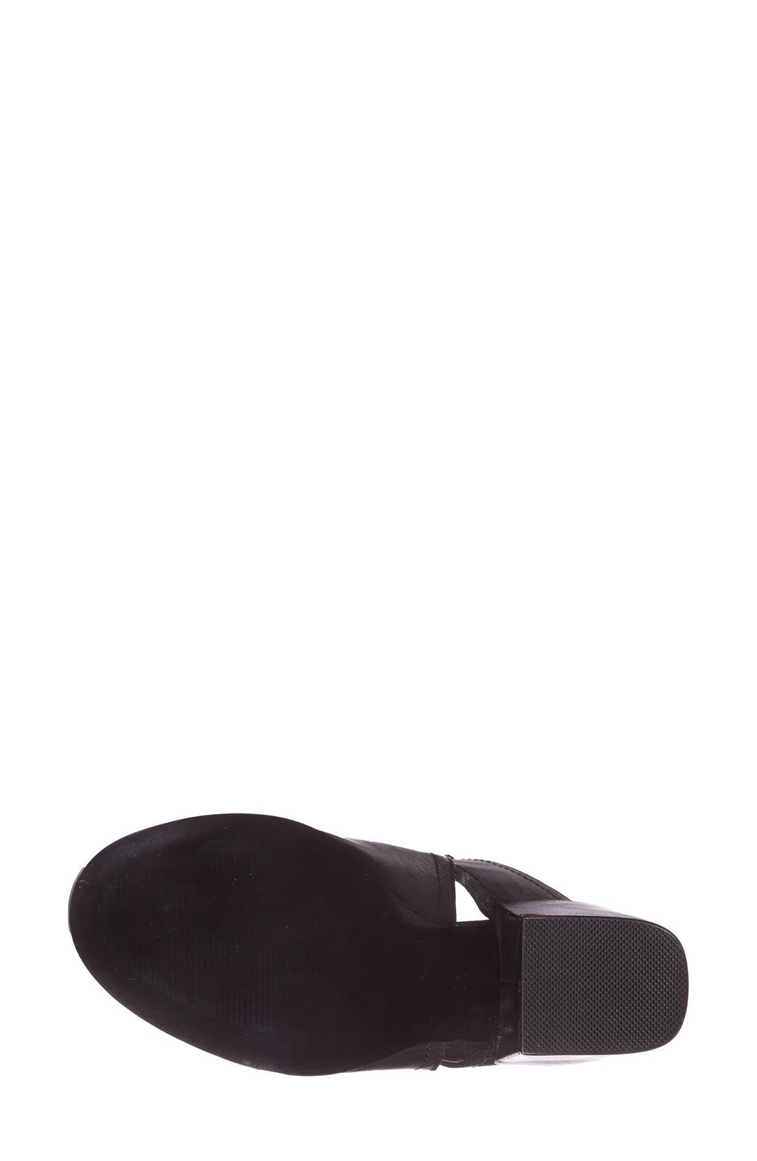 SIXTYSEVEN, 'Polly' Open Toe Bootie, Alternate thumbnail 2, color, 001