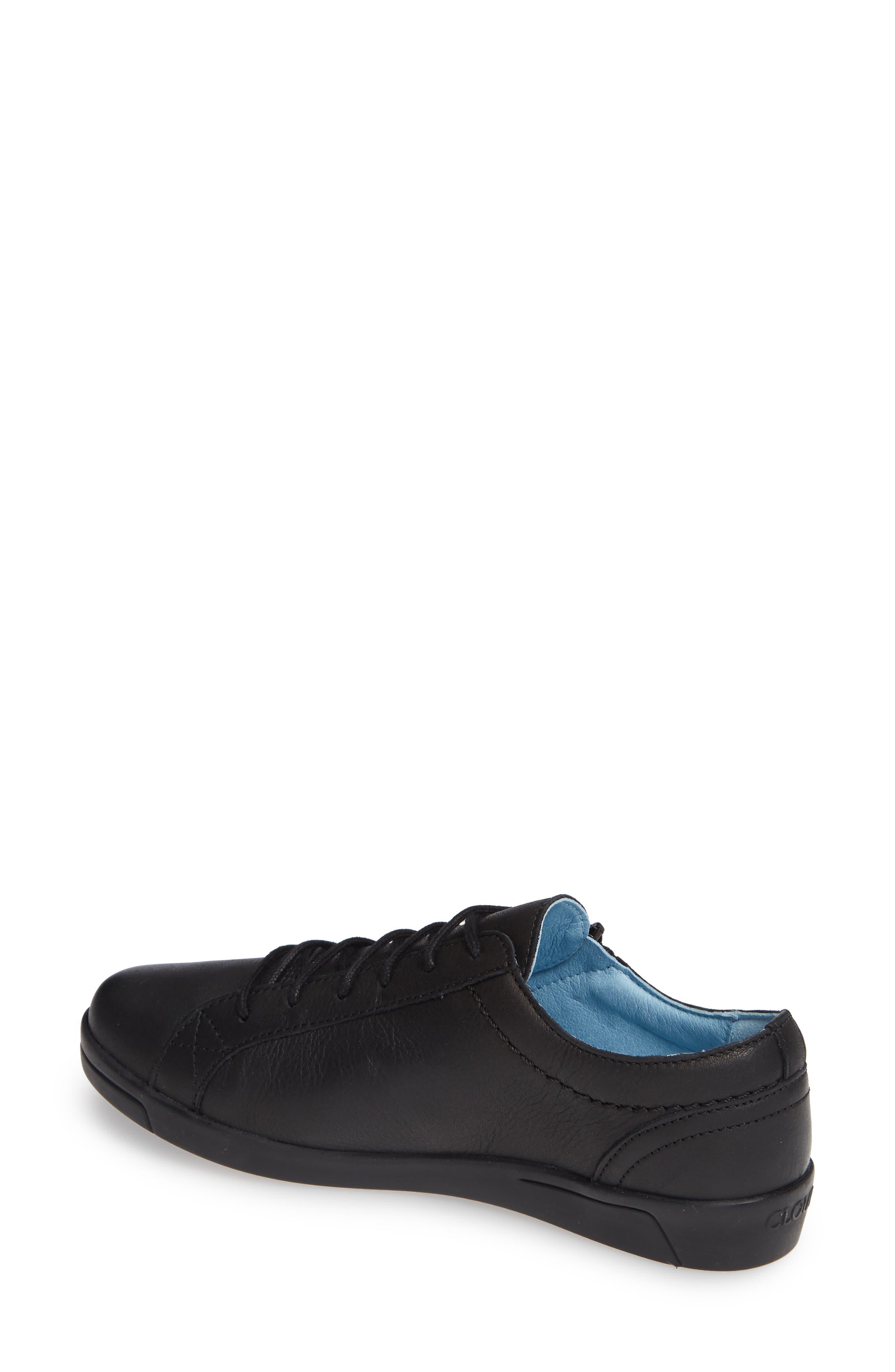 CLOUD, 'Aika' Leather Sneaker, Alternate thumbnail 2, color, 004