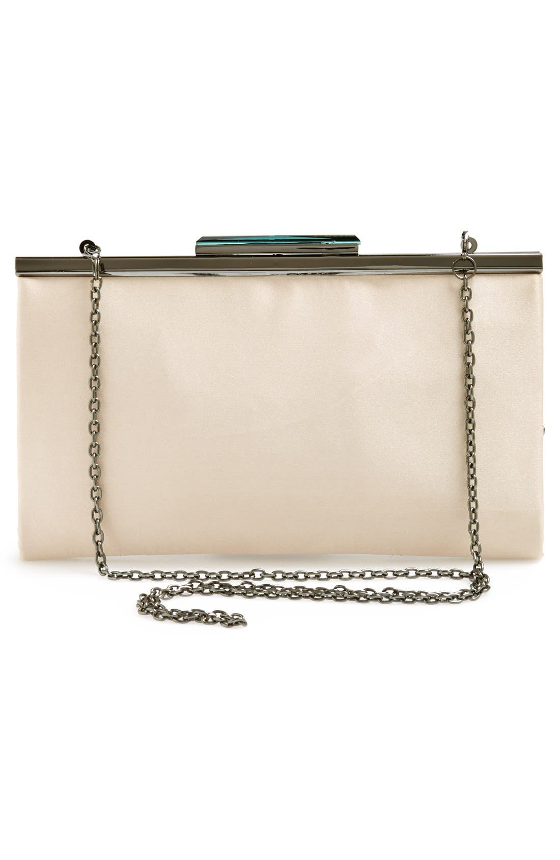 GLINT, 'Topper' Embellished Frame Clutch, Alternate thumbnail 2, color, 950
