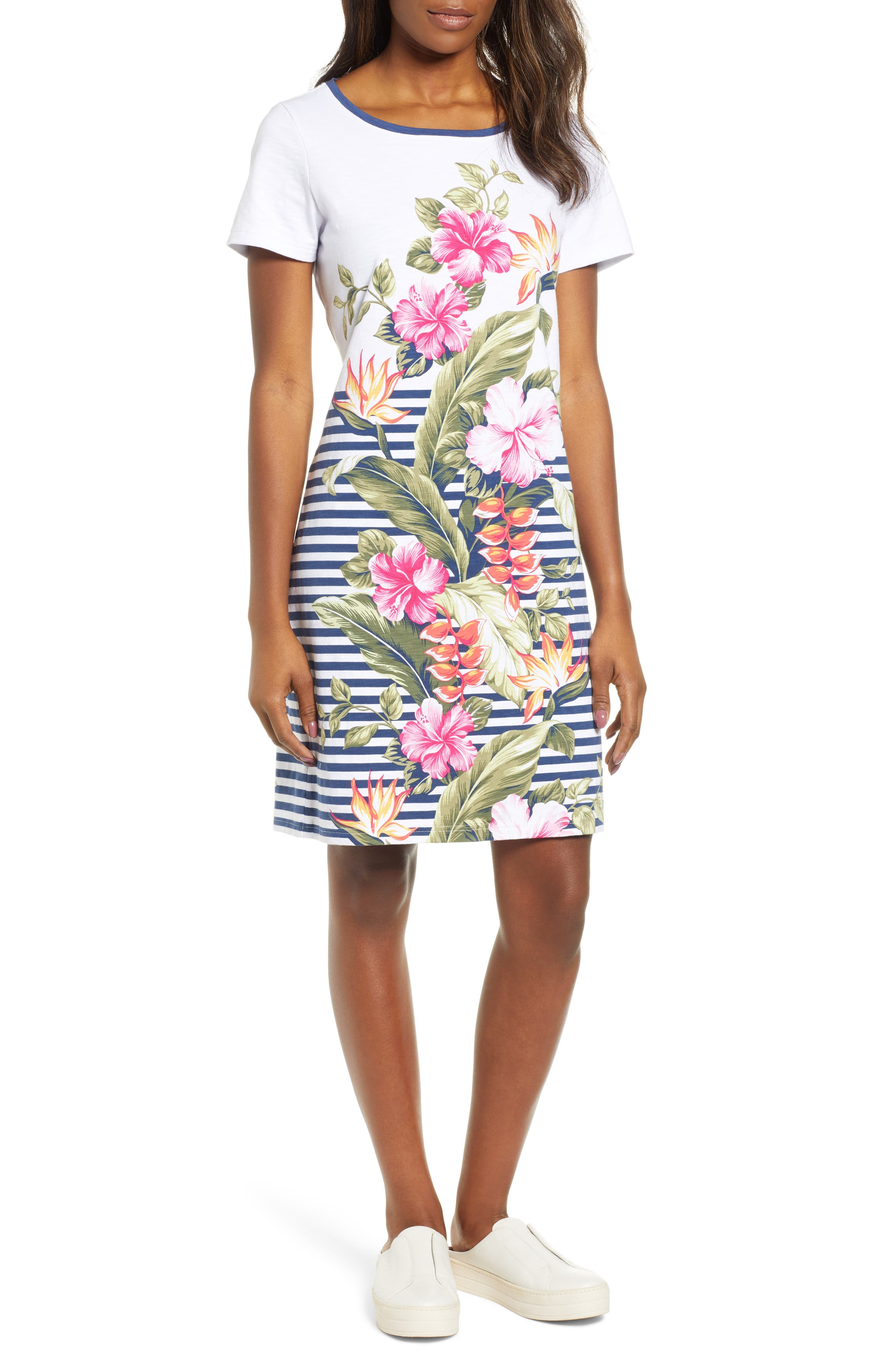 Tommy Bahama Kahuna Cascade Shift Dress, Pink