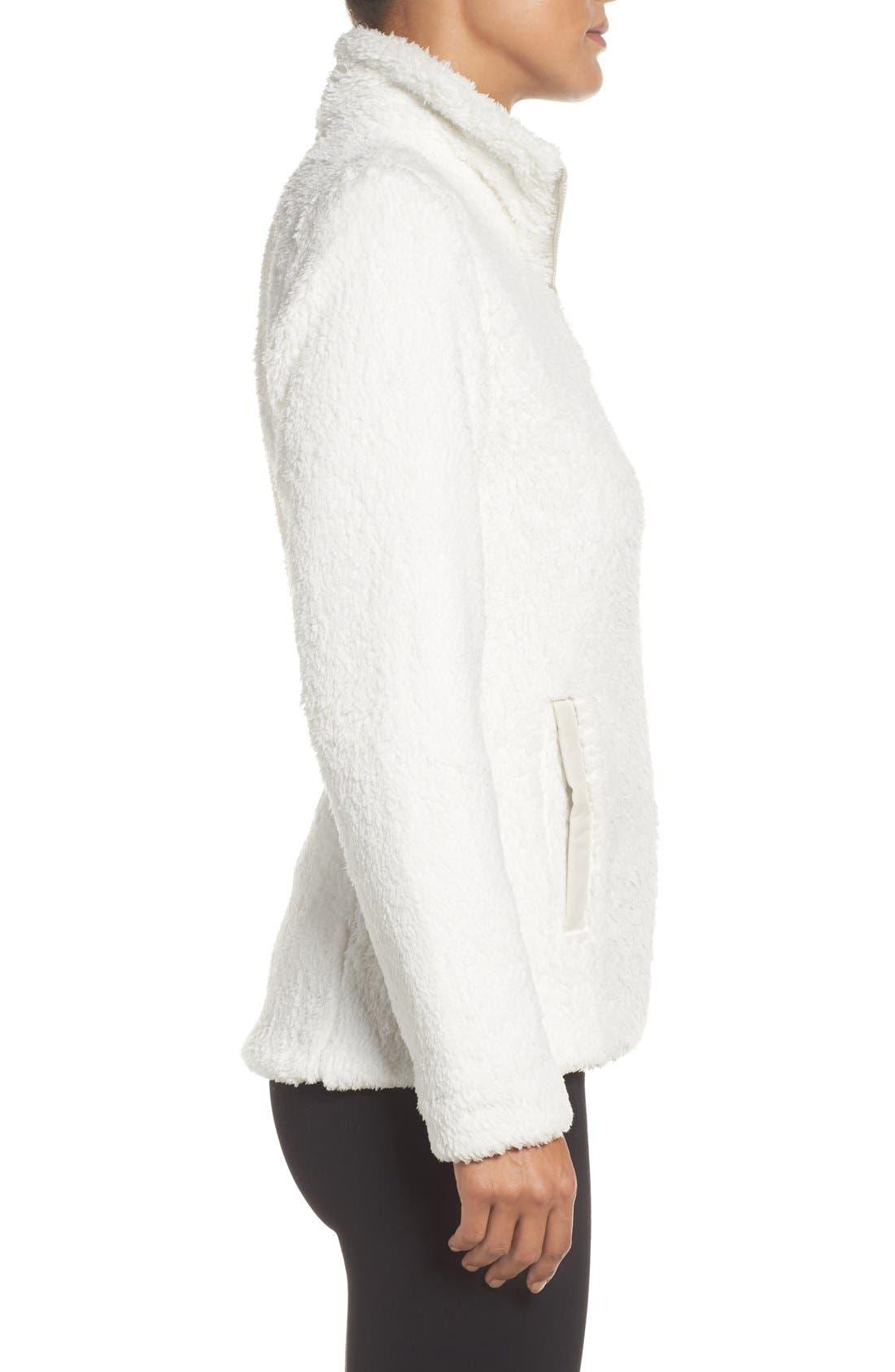 PATAGONIA, Los Gatos Fleece Jacket, Alternate thumbnail 2, color, BIRCH WHITE