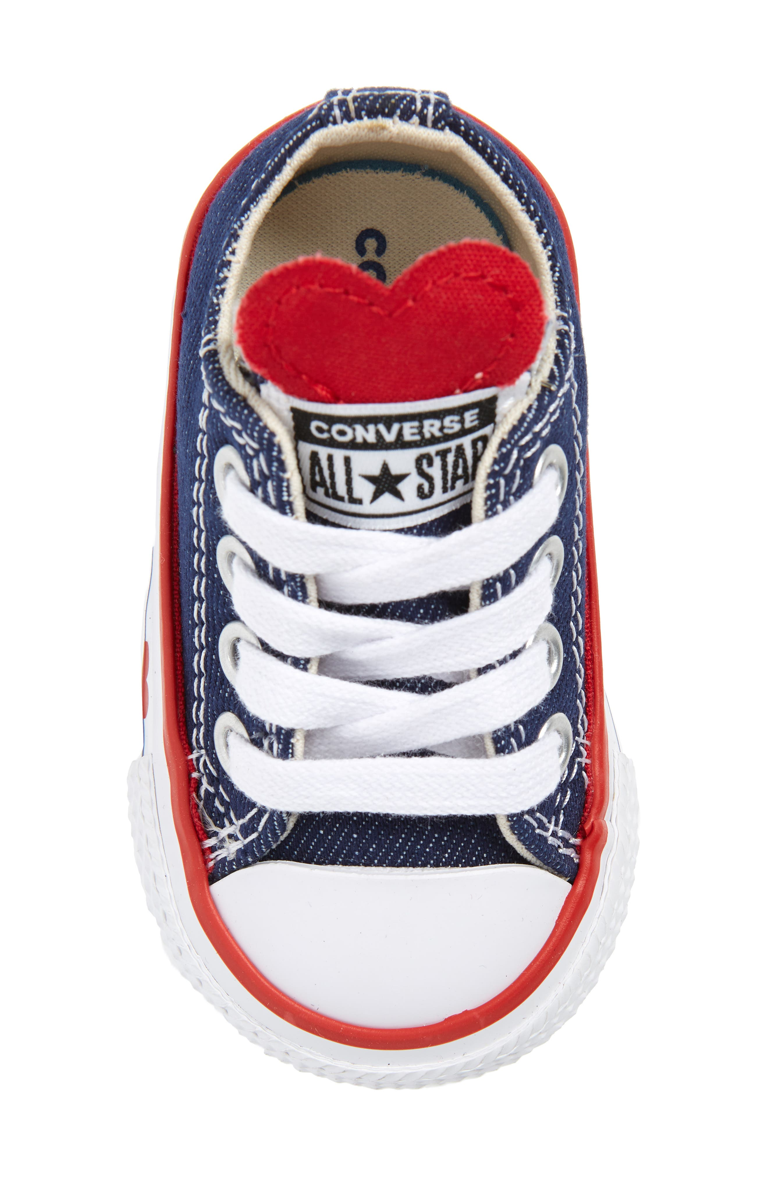CONVERSE, Chuck Taylor<sup>®</sup> All Star<sup>®</sup> Ox Low Top Sneaker, Alternate thumbnail 5, color, 410