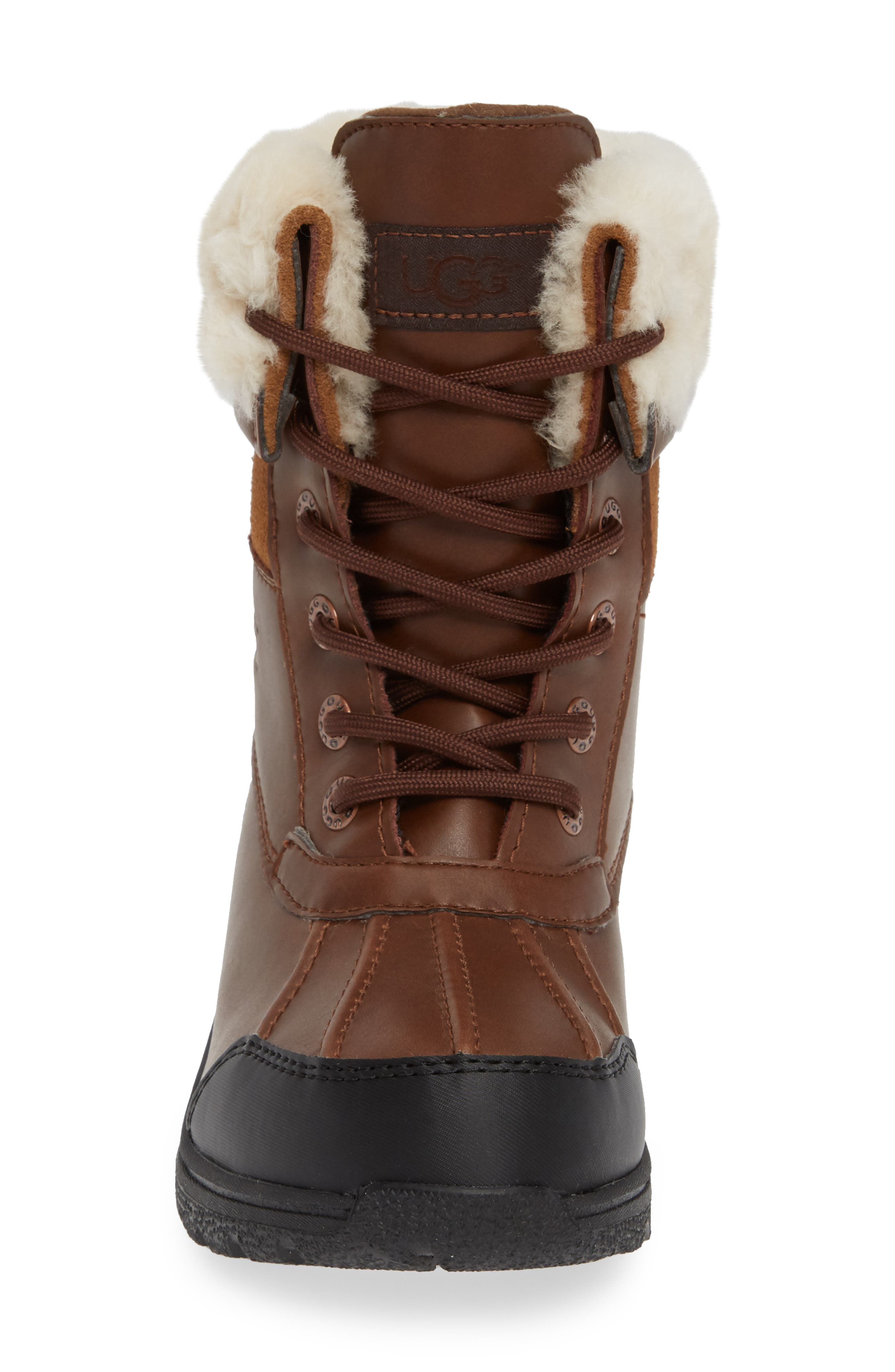UGG<SUP>®</SUP>, Butte II Waterproof Winter Boot, Alternate thumbnail 4, color, WORCHESTER