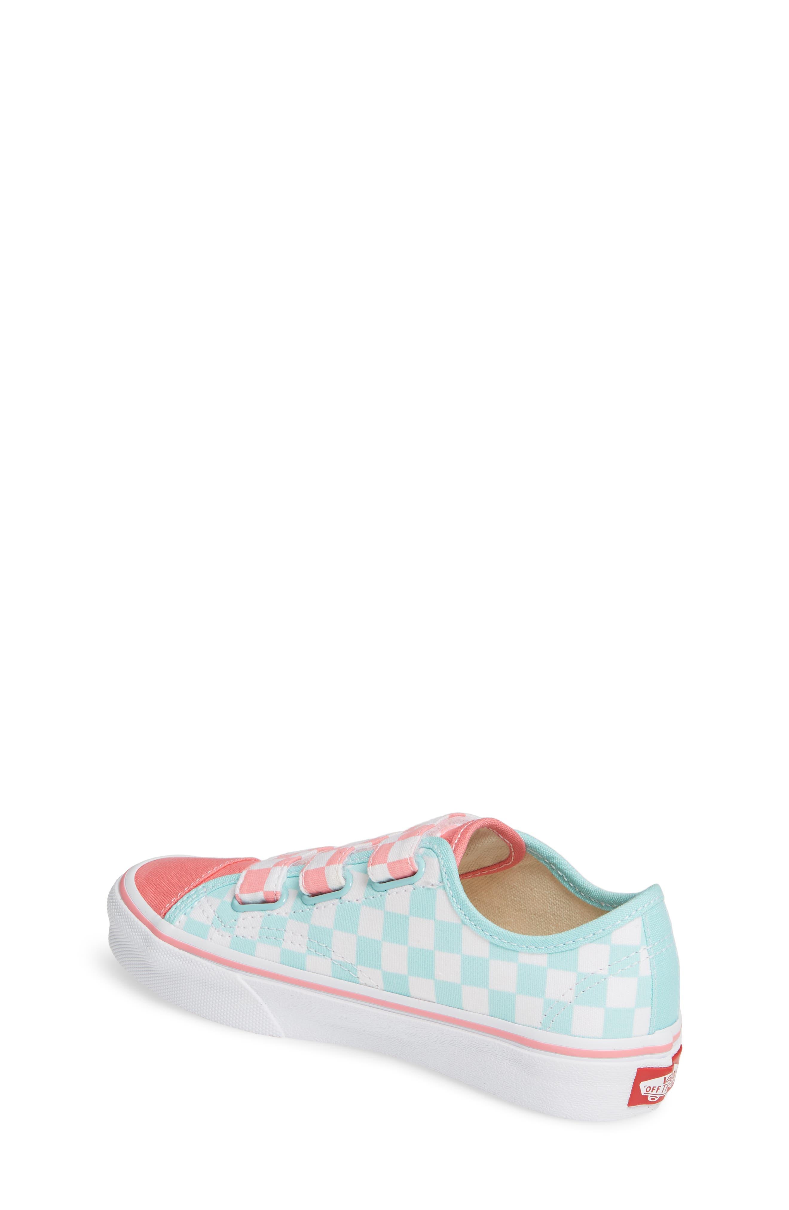 VANS, Style 23V Sneaker, Alternate thumbnail 2, color, BLUE TINT/ STRAWBERRY PINK
