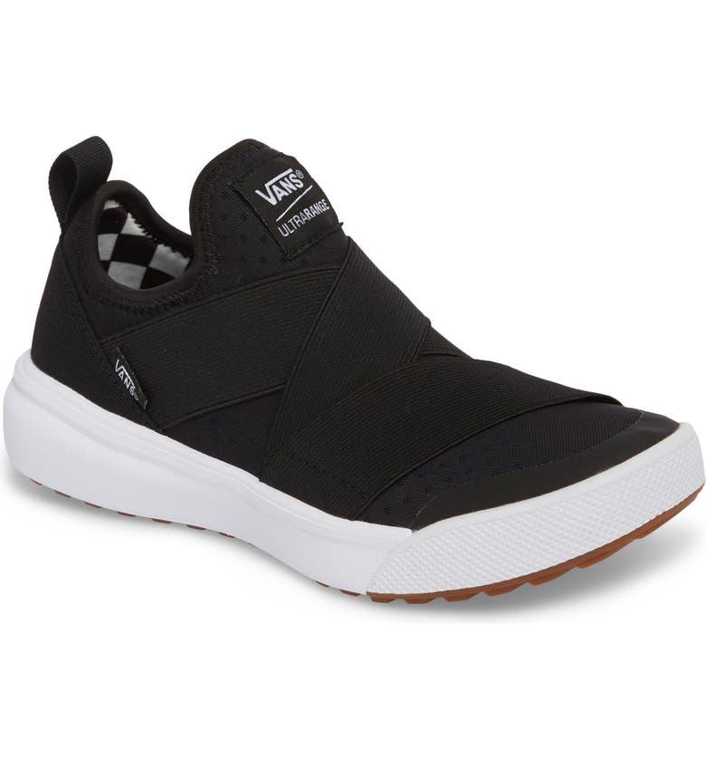 7106a8f7f6dfa1 Vans Ultrarange Gore Slip-On Sneaker In Black