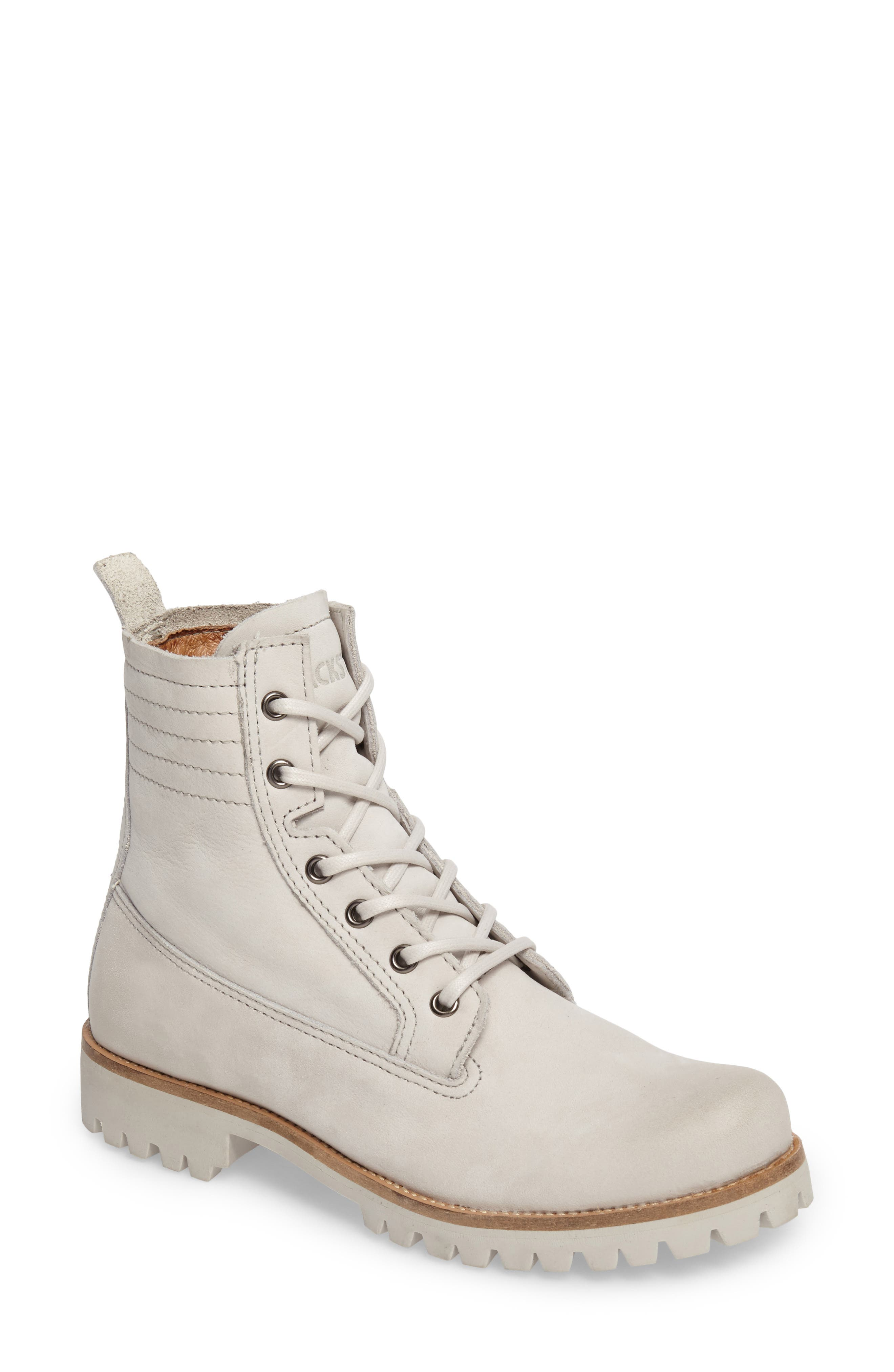 Blackstone Ol23 Lace-Up Boot Grey