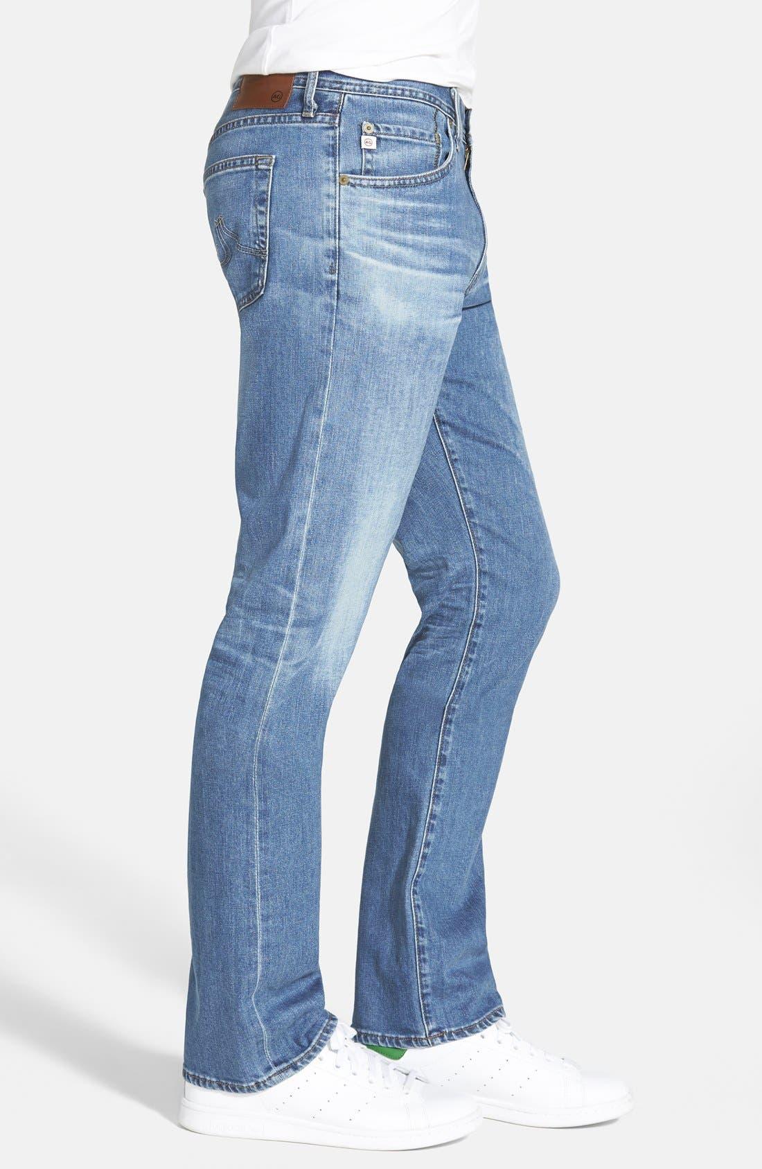 AG, 'Protégé' Straight Leg Jeans, Alternate thumbnail 2, color, 428