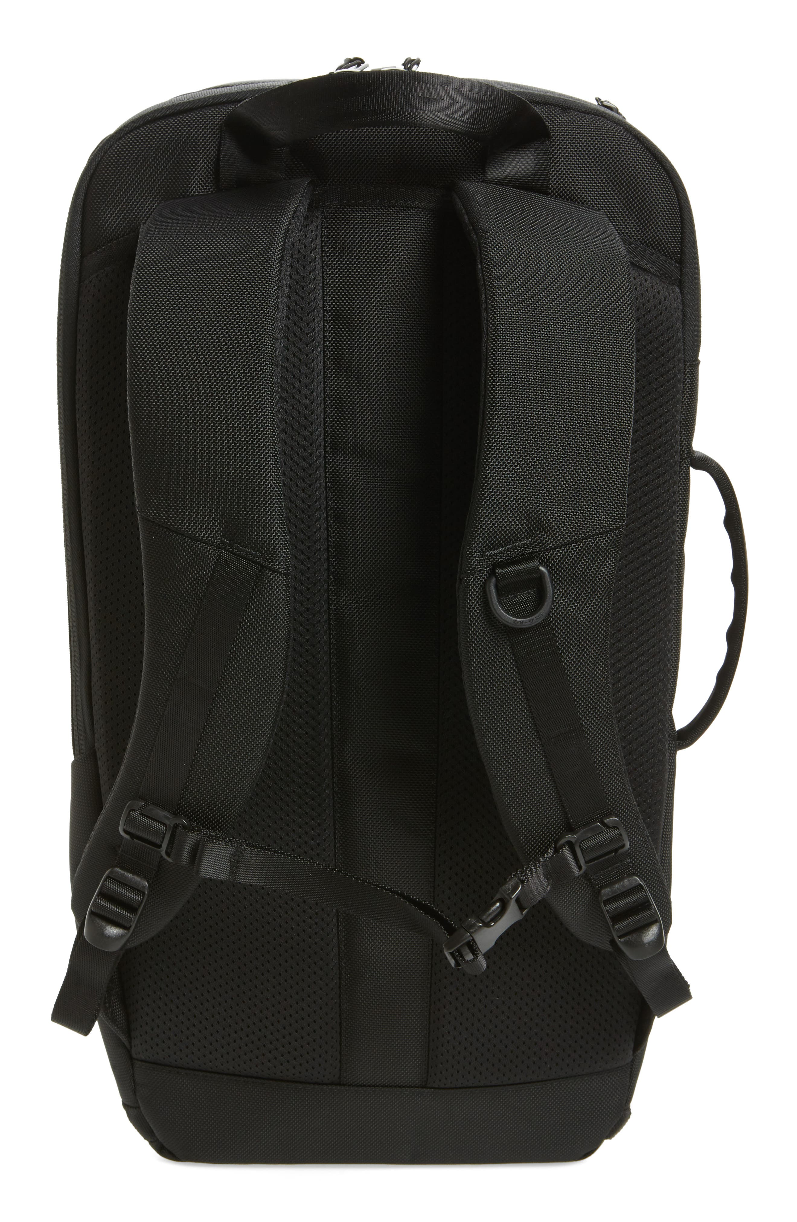 AER, Duffel Pack 2 Convertible Backpack, Alternate thumbnail 4, color, BLACK